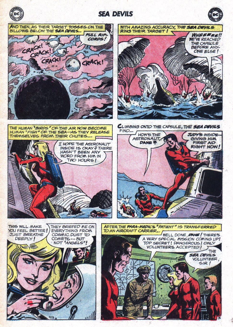 Read online Sea Devils comic -  Issue #9 - 6