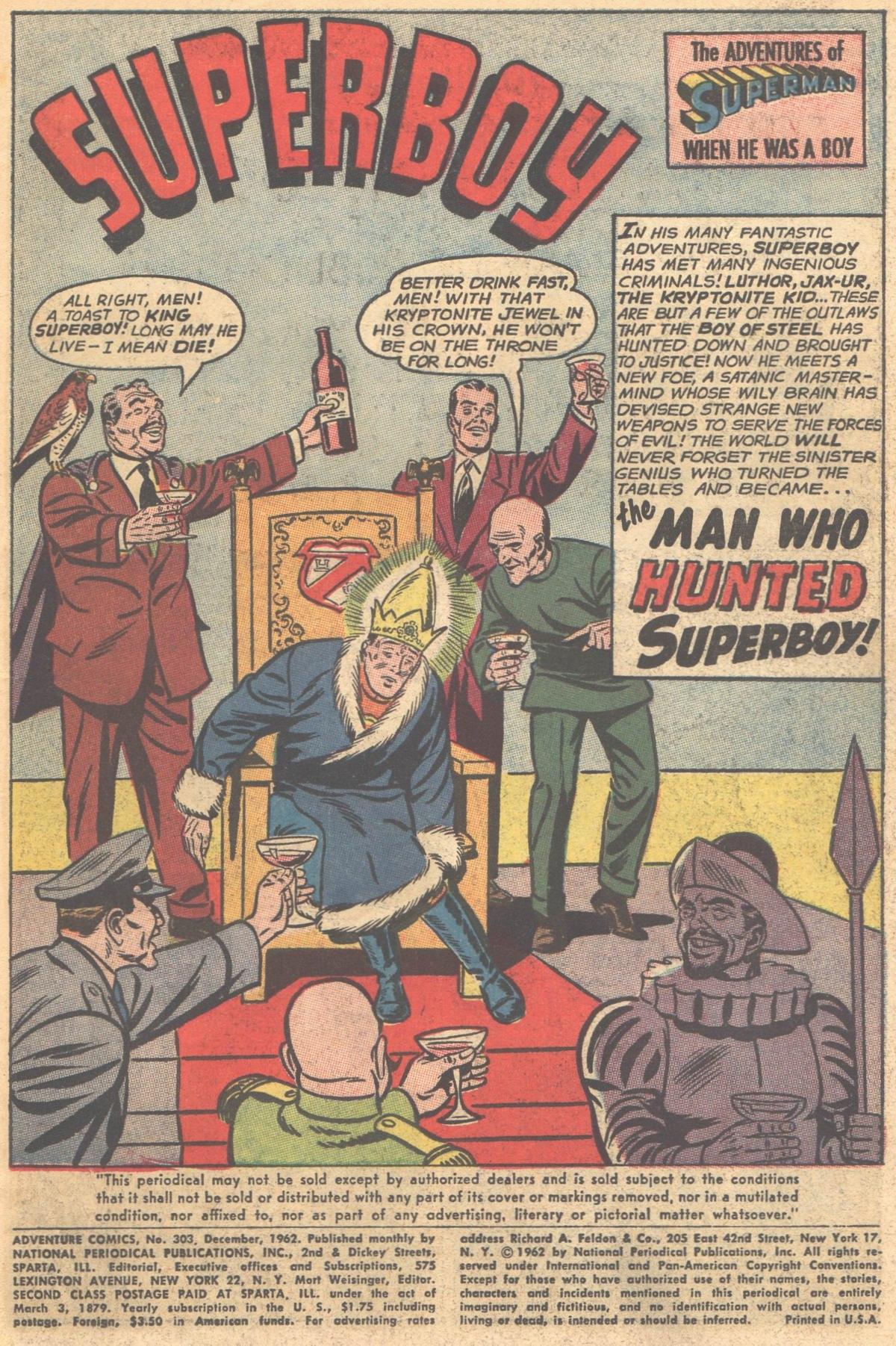 Read online Adventure Comics (1938) comic -  Issue #303 - 3