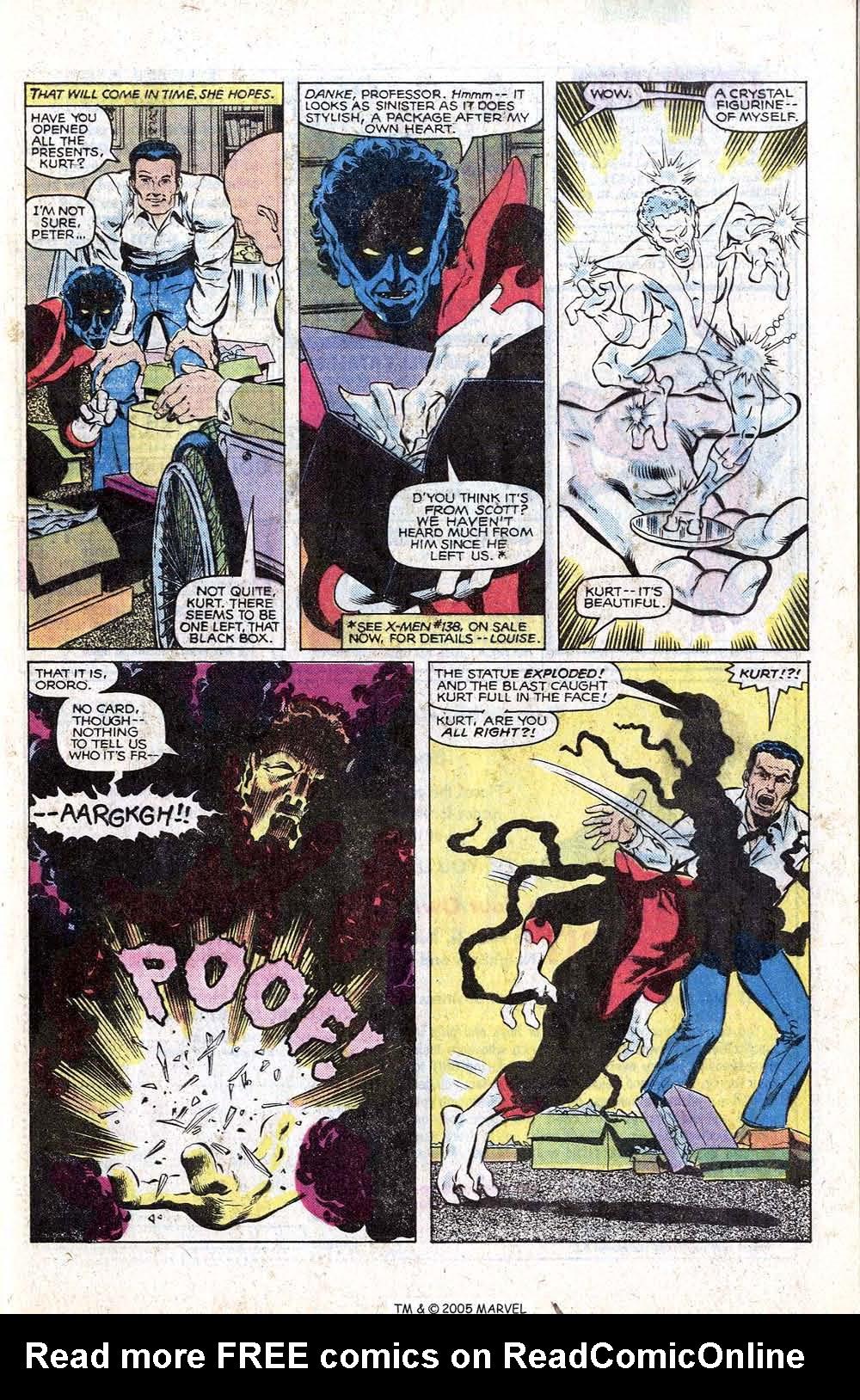 Read online Uncanny X-Men (1963) comic -  Issue # _Annual 4 - 5