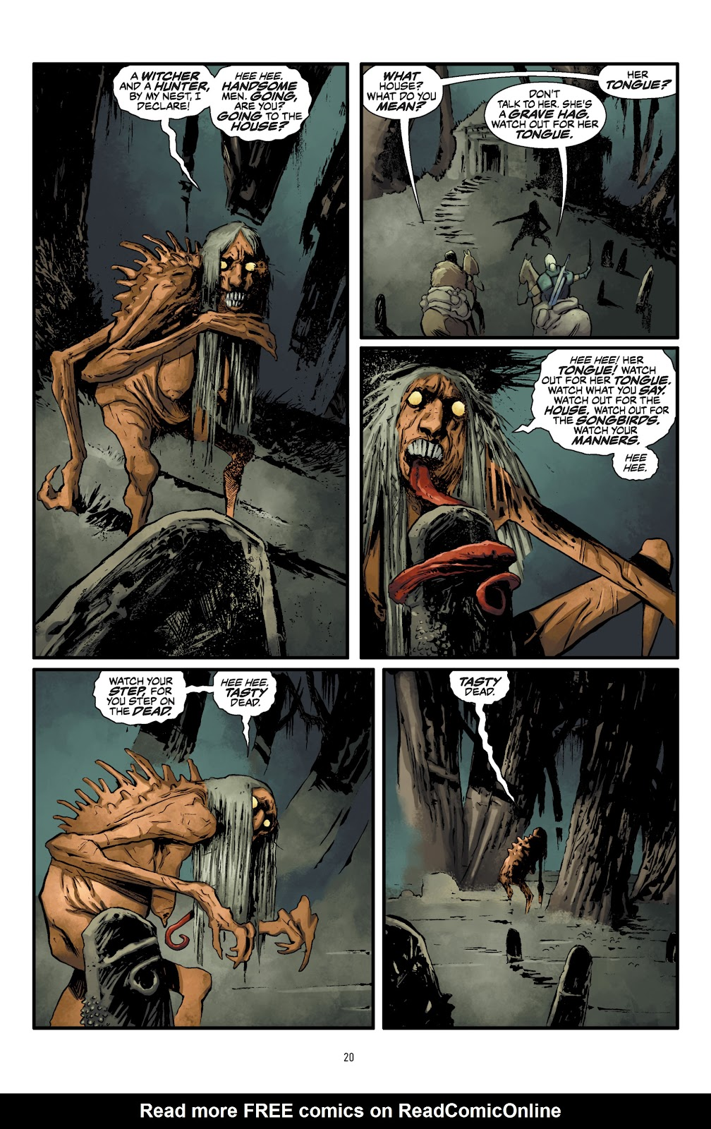 Read online The Witcher Omnibus comic -  Issue # TPB (Part 1) - 21