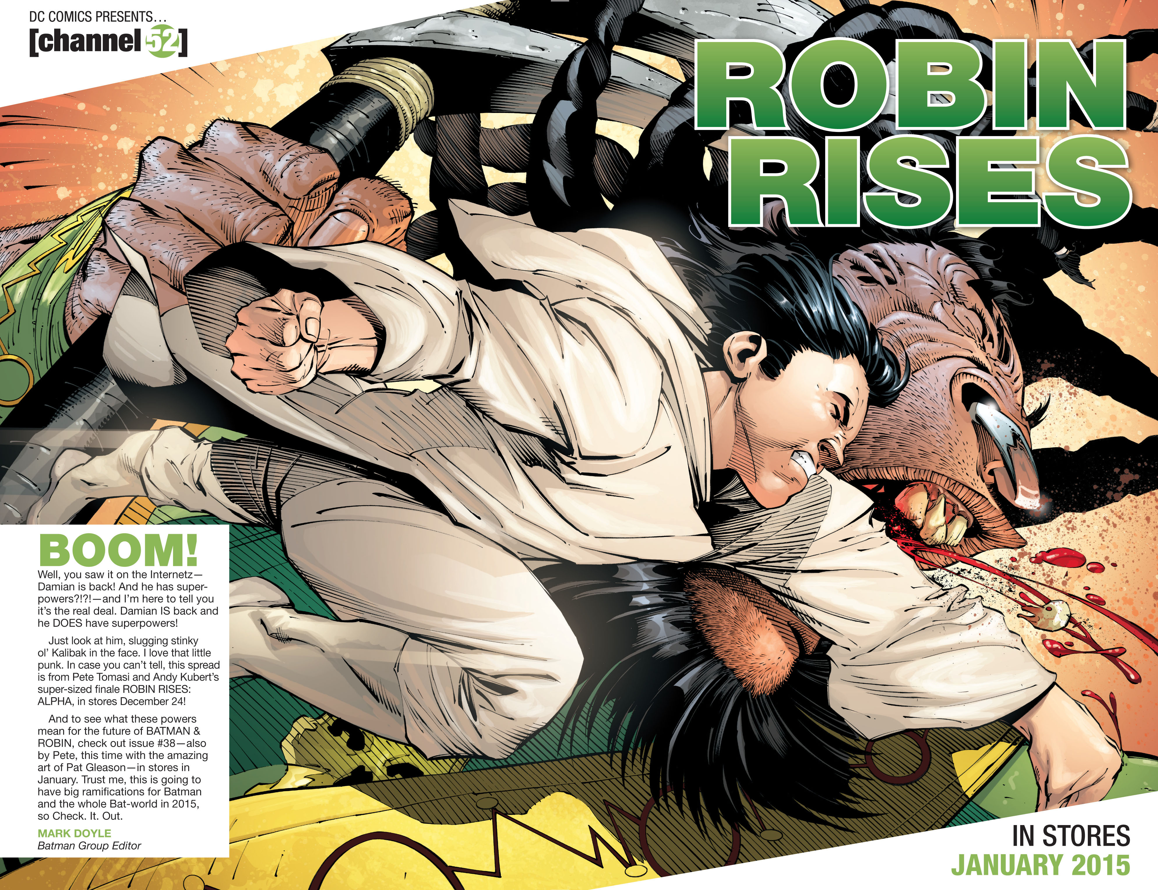 Read online Batman and Robin (2011) comic -  Issue #37 - 23