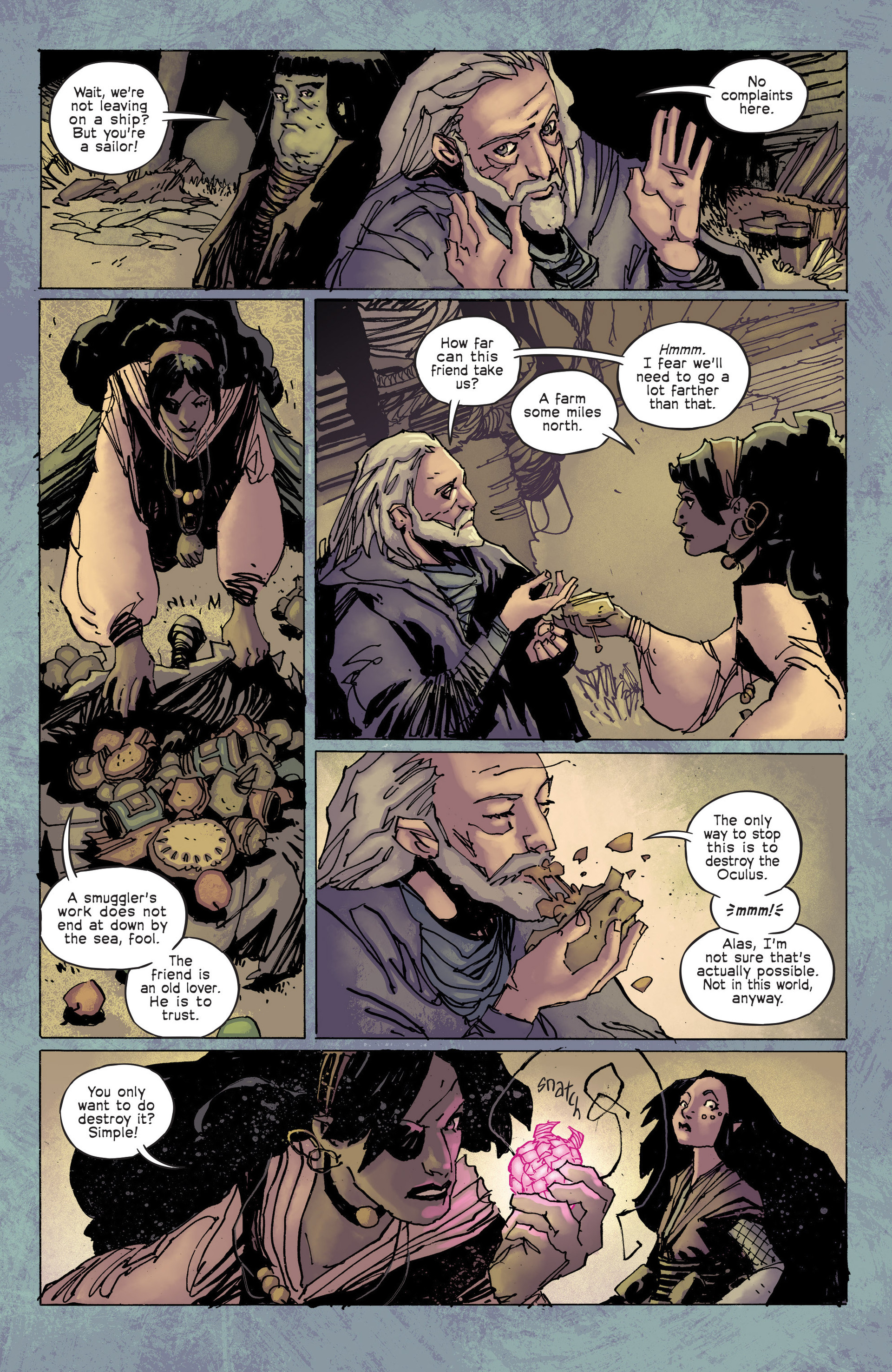 Read online Umbral comic -  Issue #6 - 13