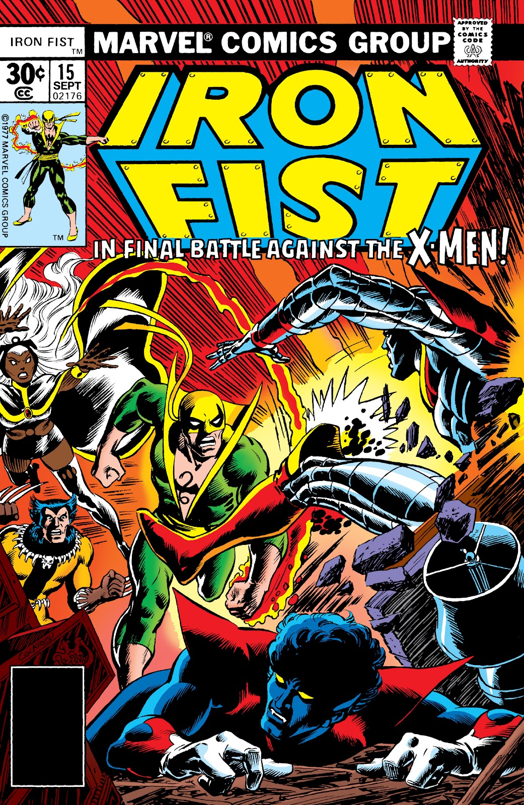 Iron Fist (1975) issue 15 - Page 1
