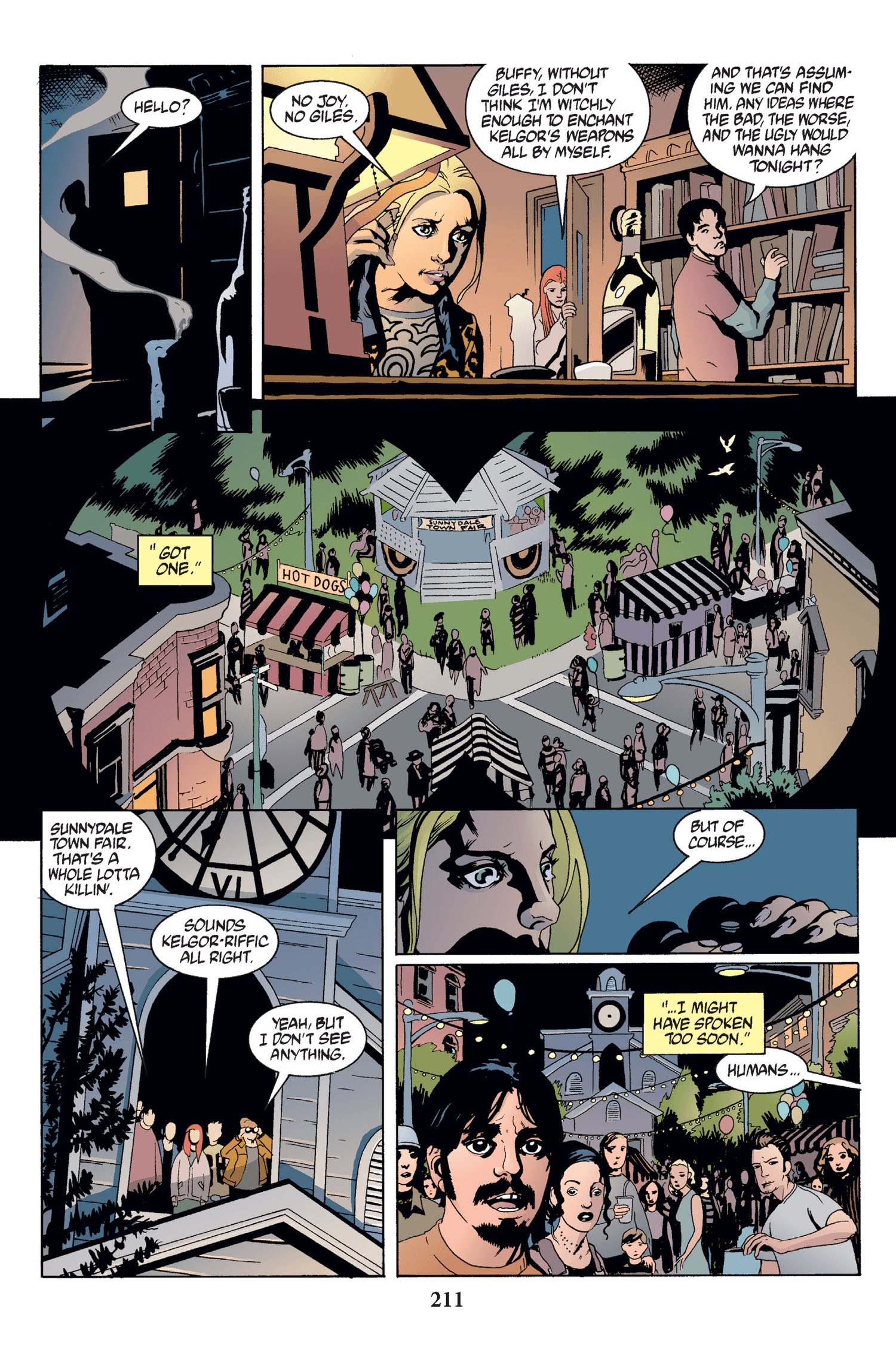 Read online Buffy the Vampire Slayer: Omnibus comic -  Issue # TPB 2 - 205