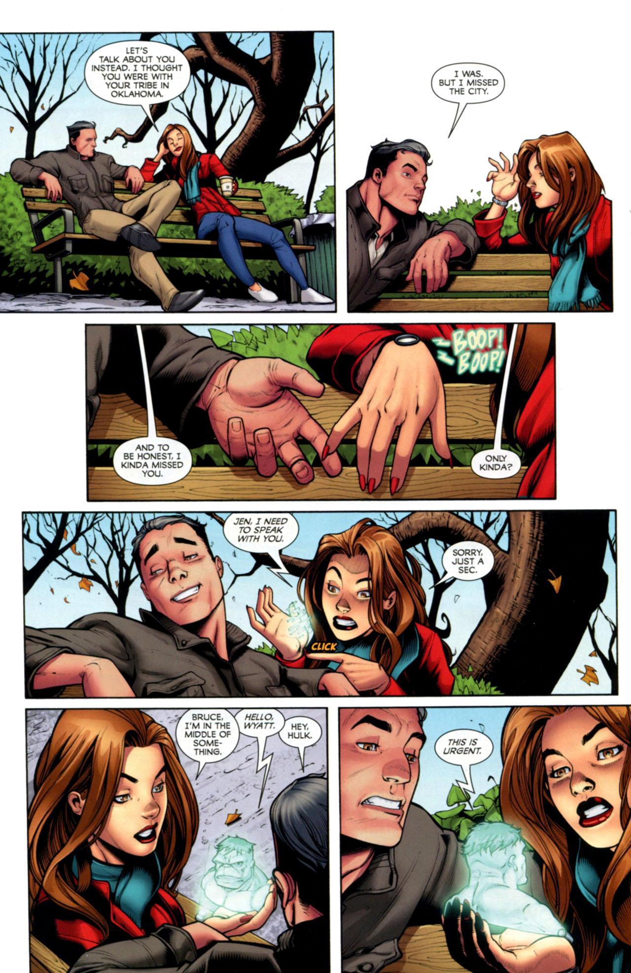 Read online She-Hulks comic -  Issue #2 - 10