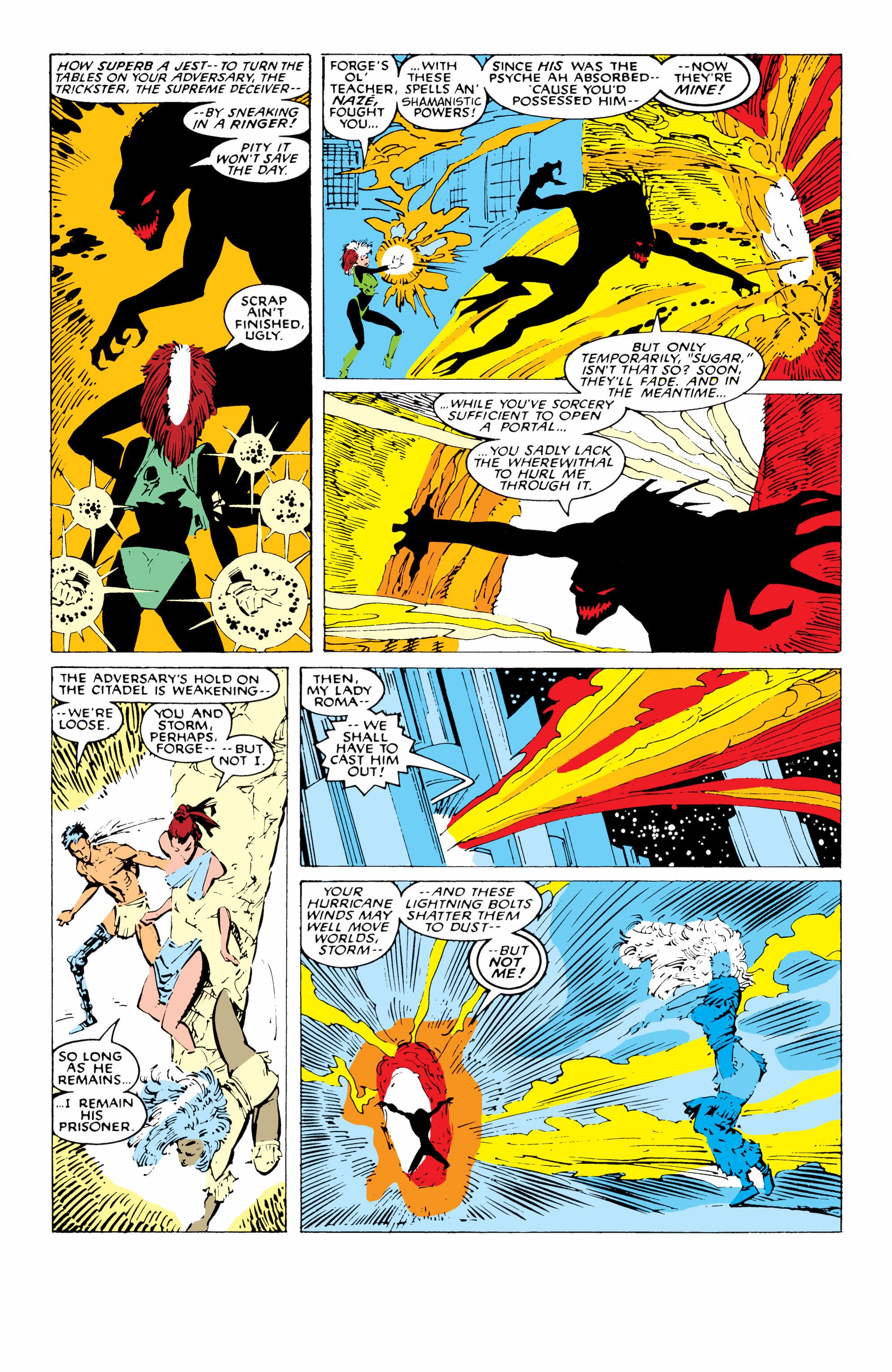 Read online Uncanny X-Men (1963) comic -  Issue #227 - 16