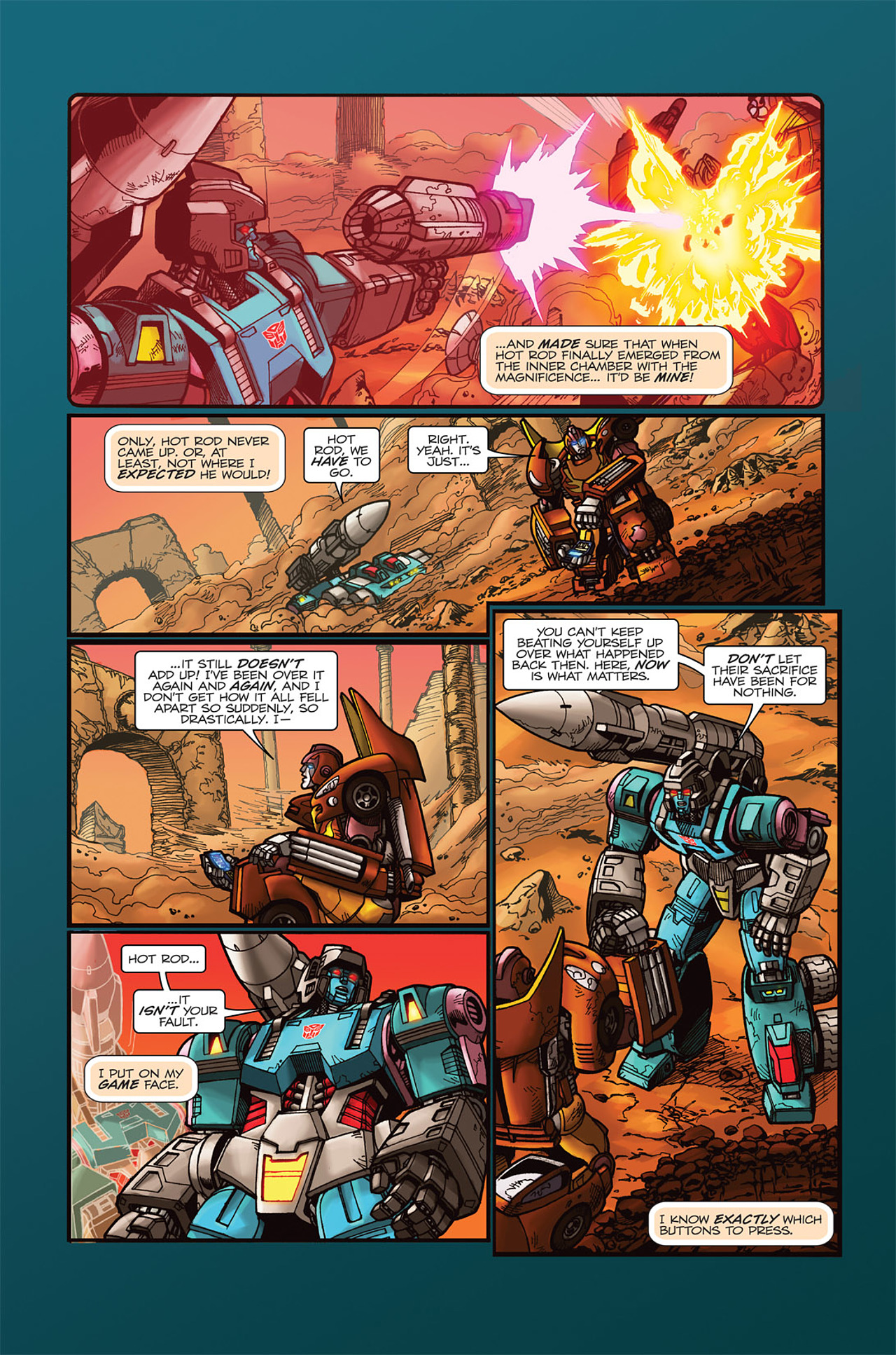Read online Transformers Spotlight: Doubledealer comic -  Issue # Full - 14