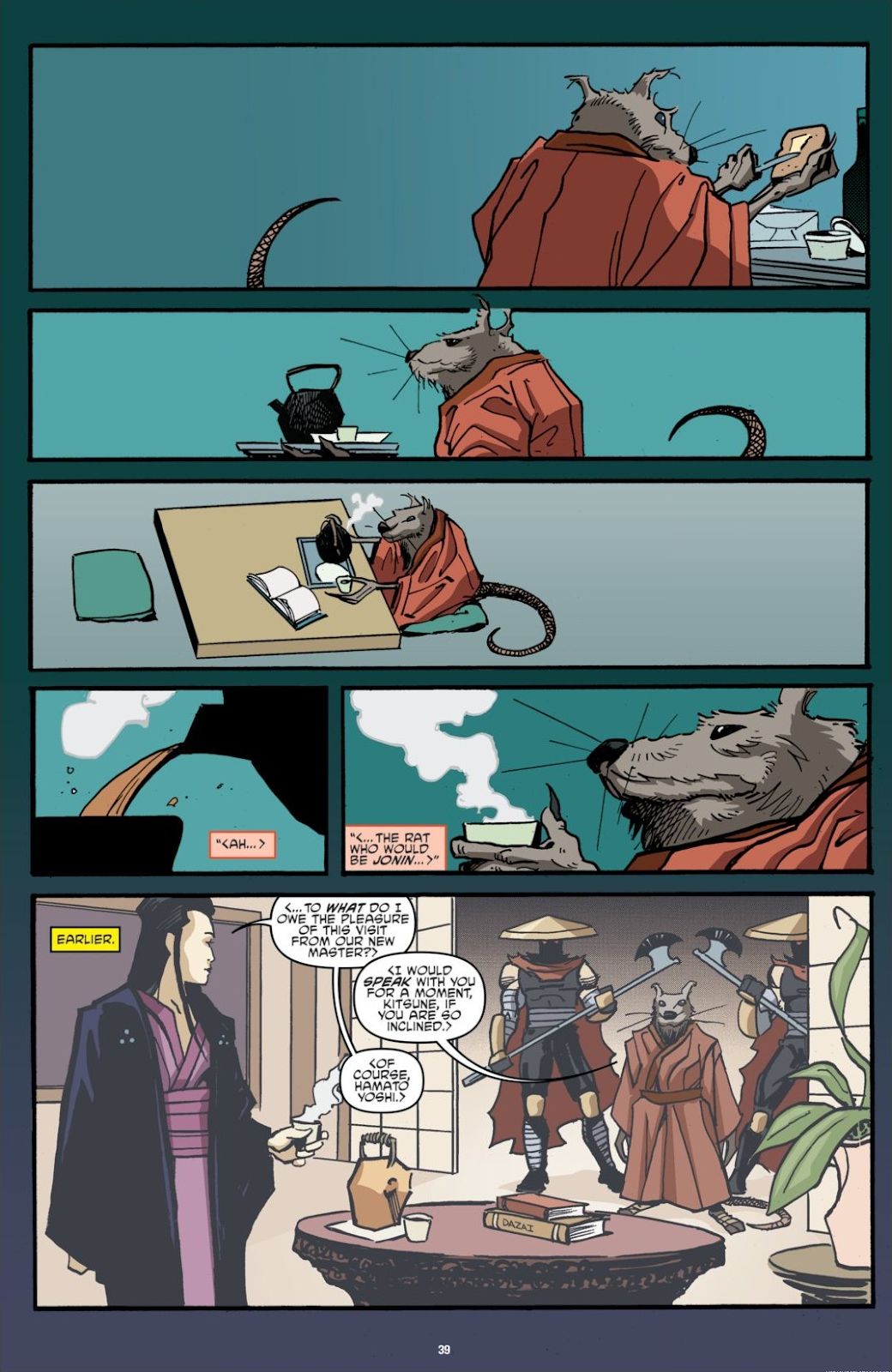 Read online Teenage Mutant Ninja Turtles: The IDW Collection comic -  Issue # TPB 7 (Part 1) - 39