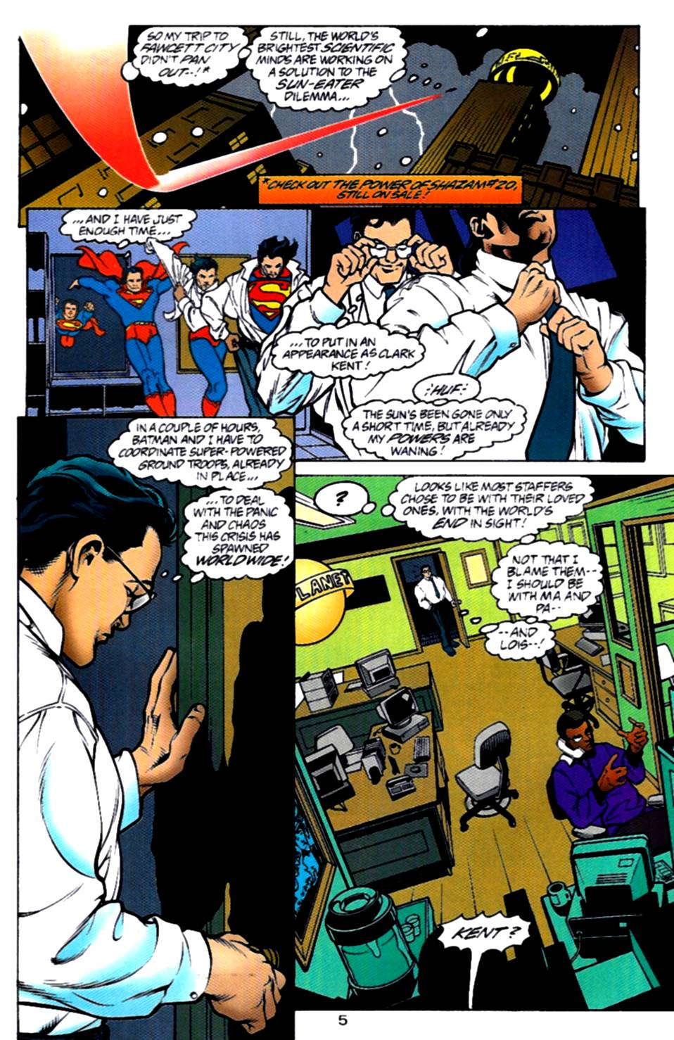 Read online Adventures of Superman (1987) comic -  Issue #540 - 6