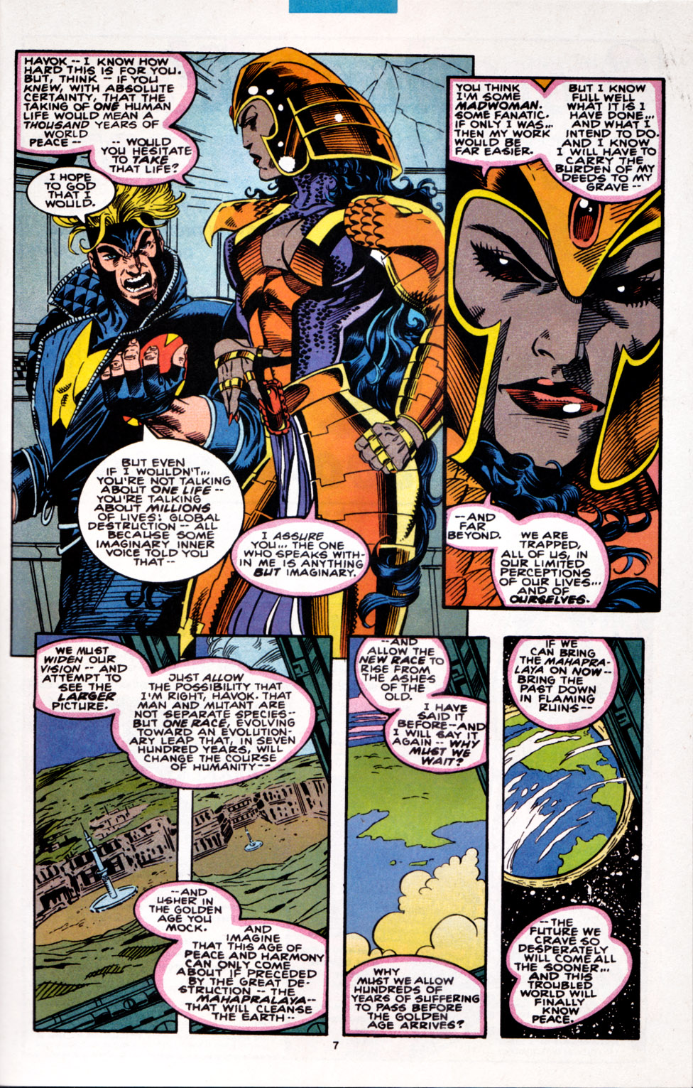 Read online X-Factor (1986) comic -  Issue #100 - 7