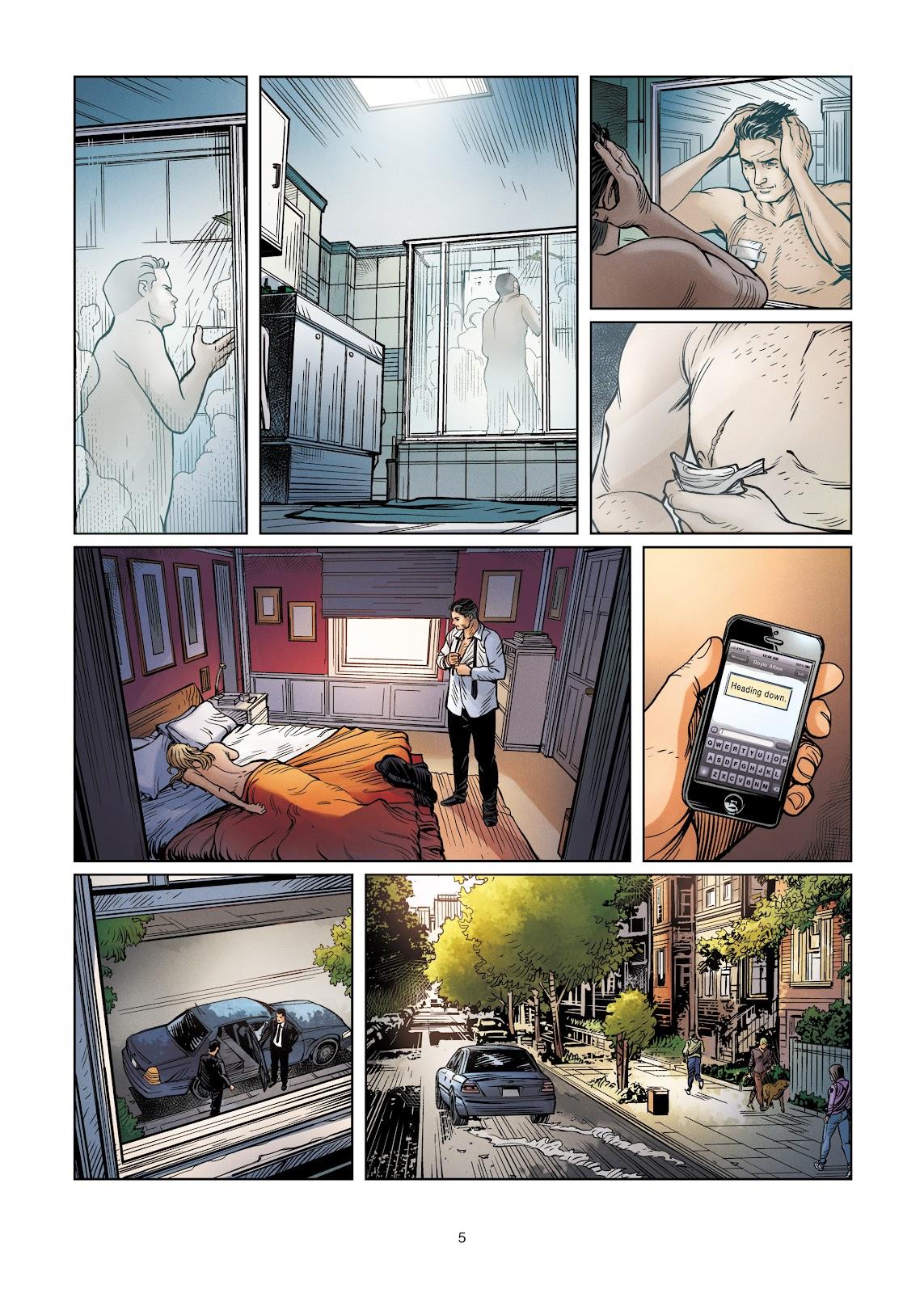 Read online Vigilantes comic -  Issue #4 - 5
