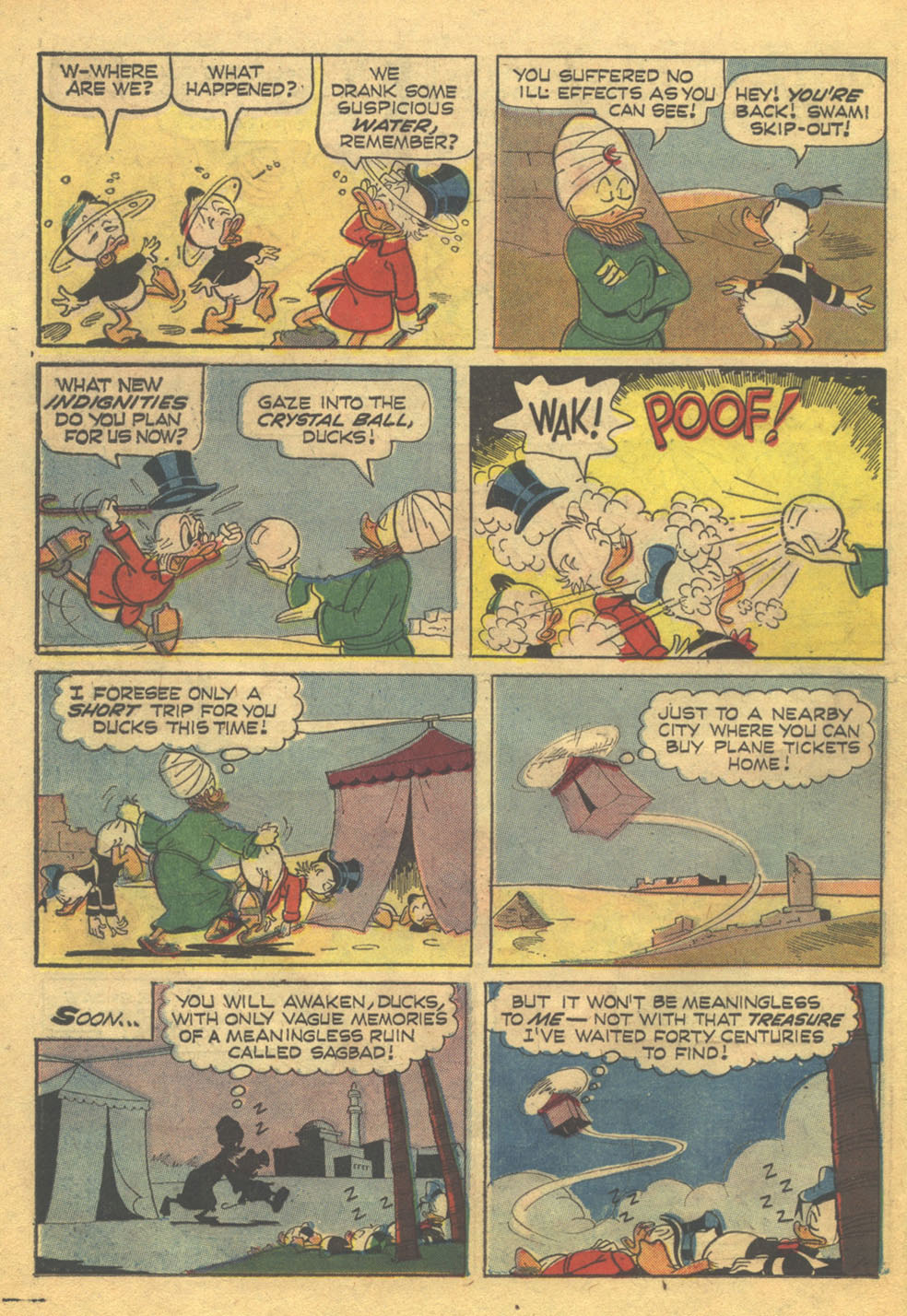 Read online Uncle Scrooge (1953) comic -  Issue #71 - 21