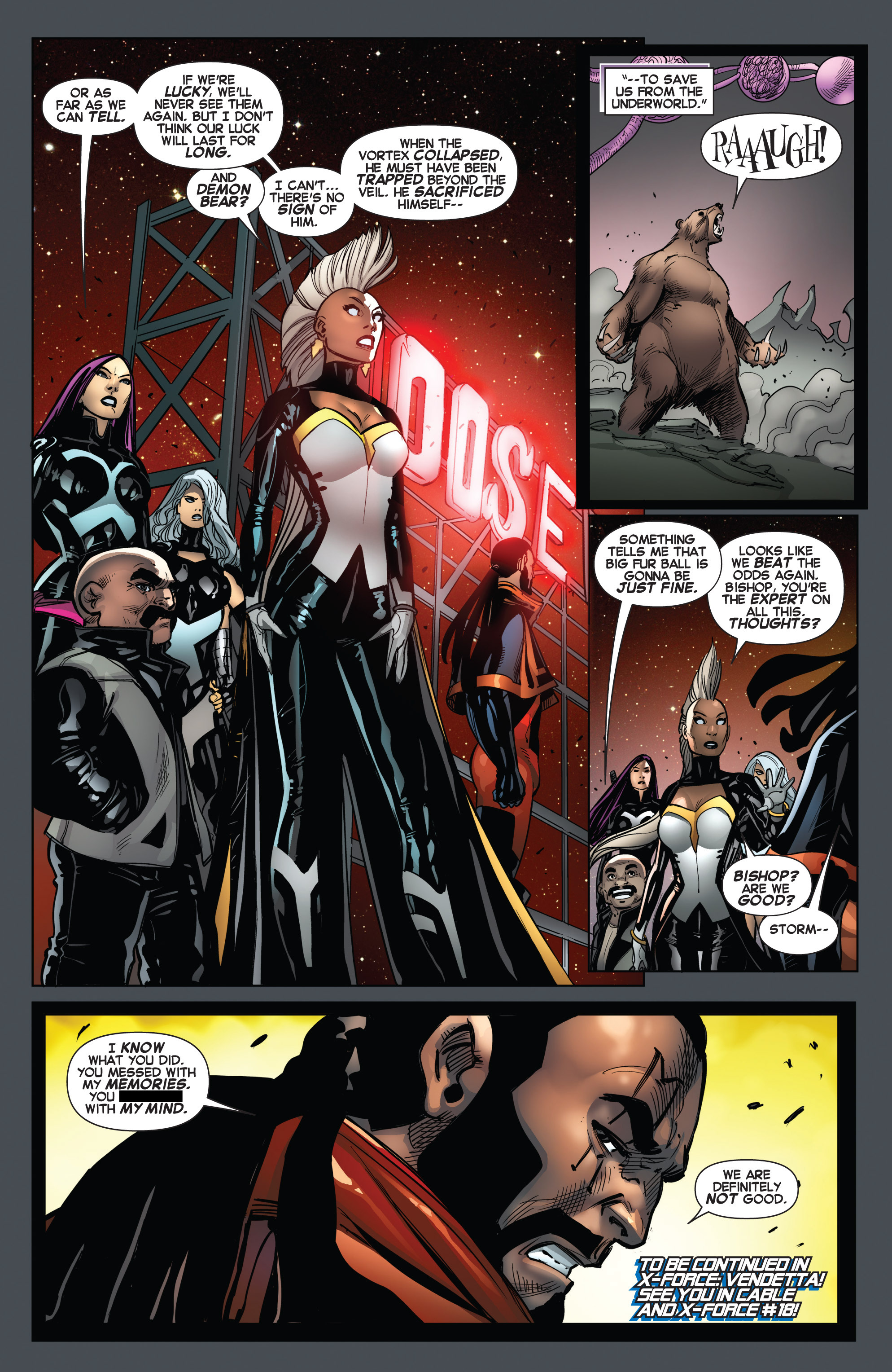Read online Uncanny X-Force (2013) comic -  Issue #15 - 22