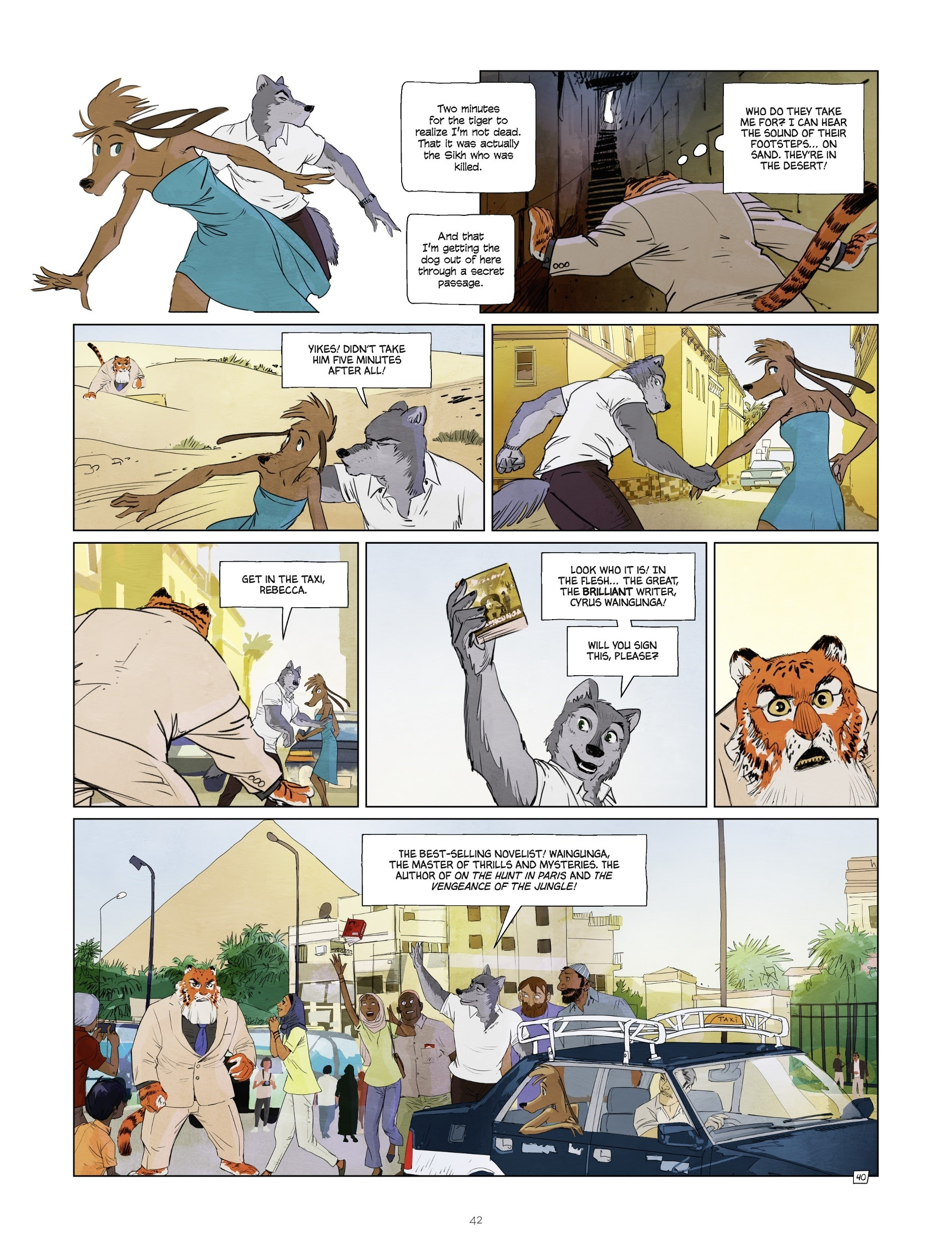 Read online Jack Wolfgang comic -  Issue #3 - 44