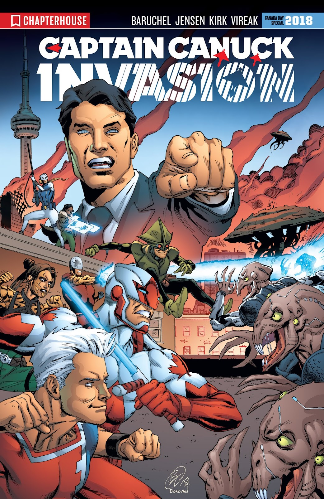 Captain Canuck: Invasion (Canada Day 2018) issue Full - Page 1