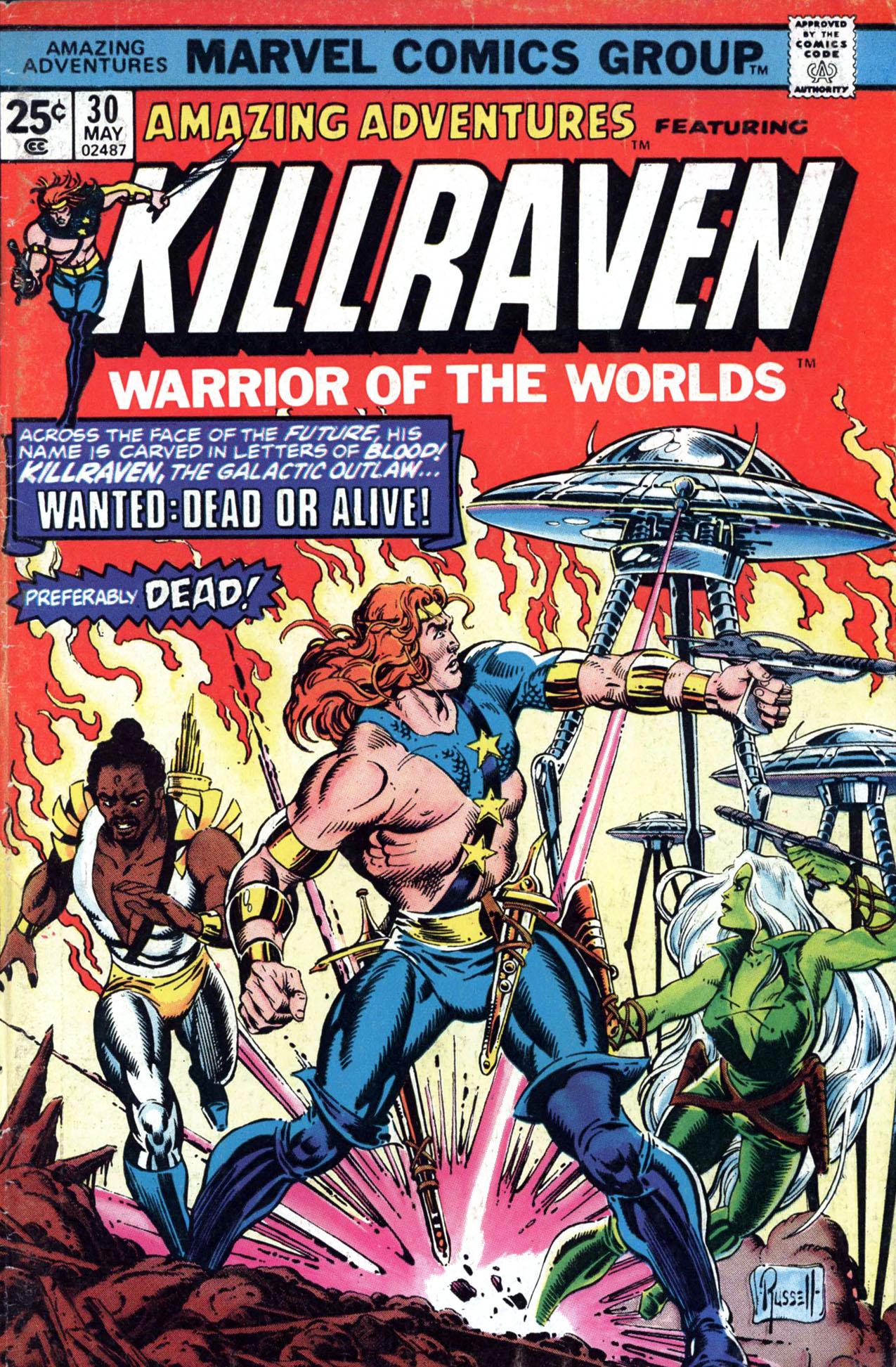 Read online Amazing Adventures (1970) comic -  Issue #30 - 1