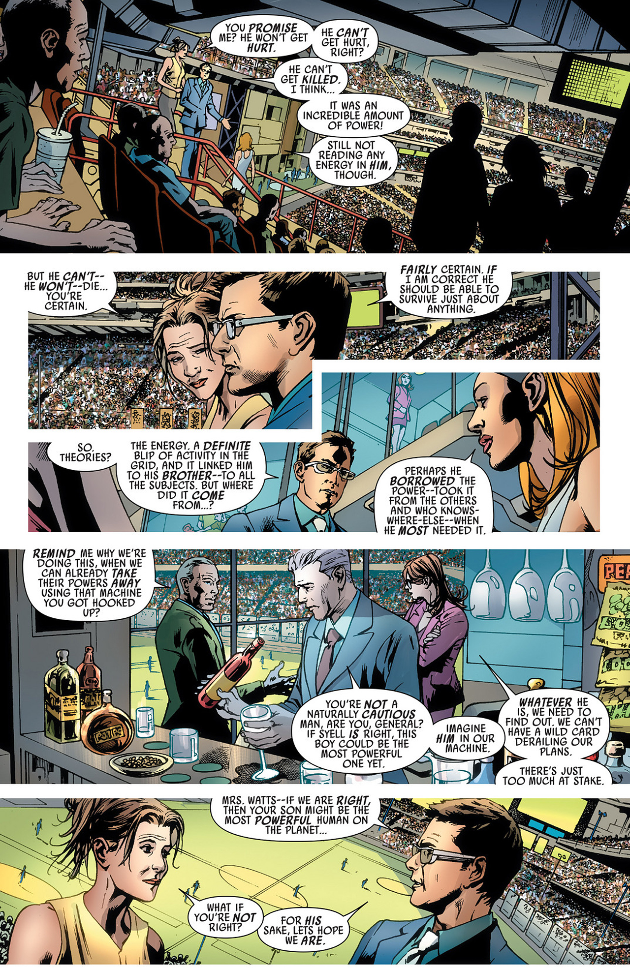 Read online America's Got Powers comic -  Issue #3 - 11