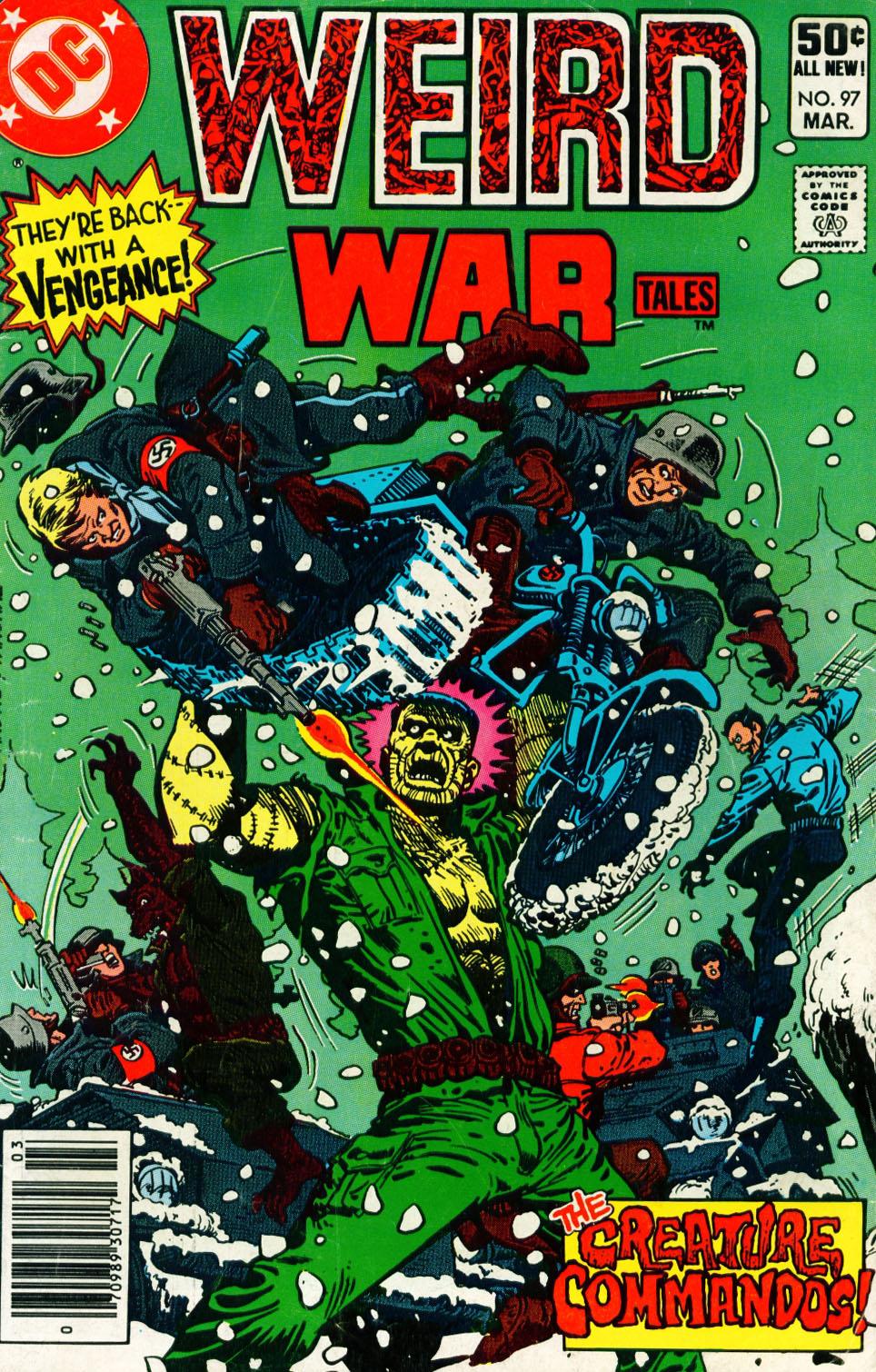 Weird War Tales (1971) issue 97 - Page 1