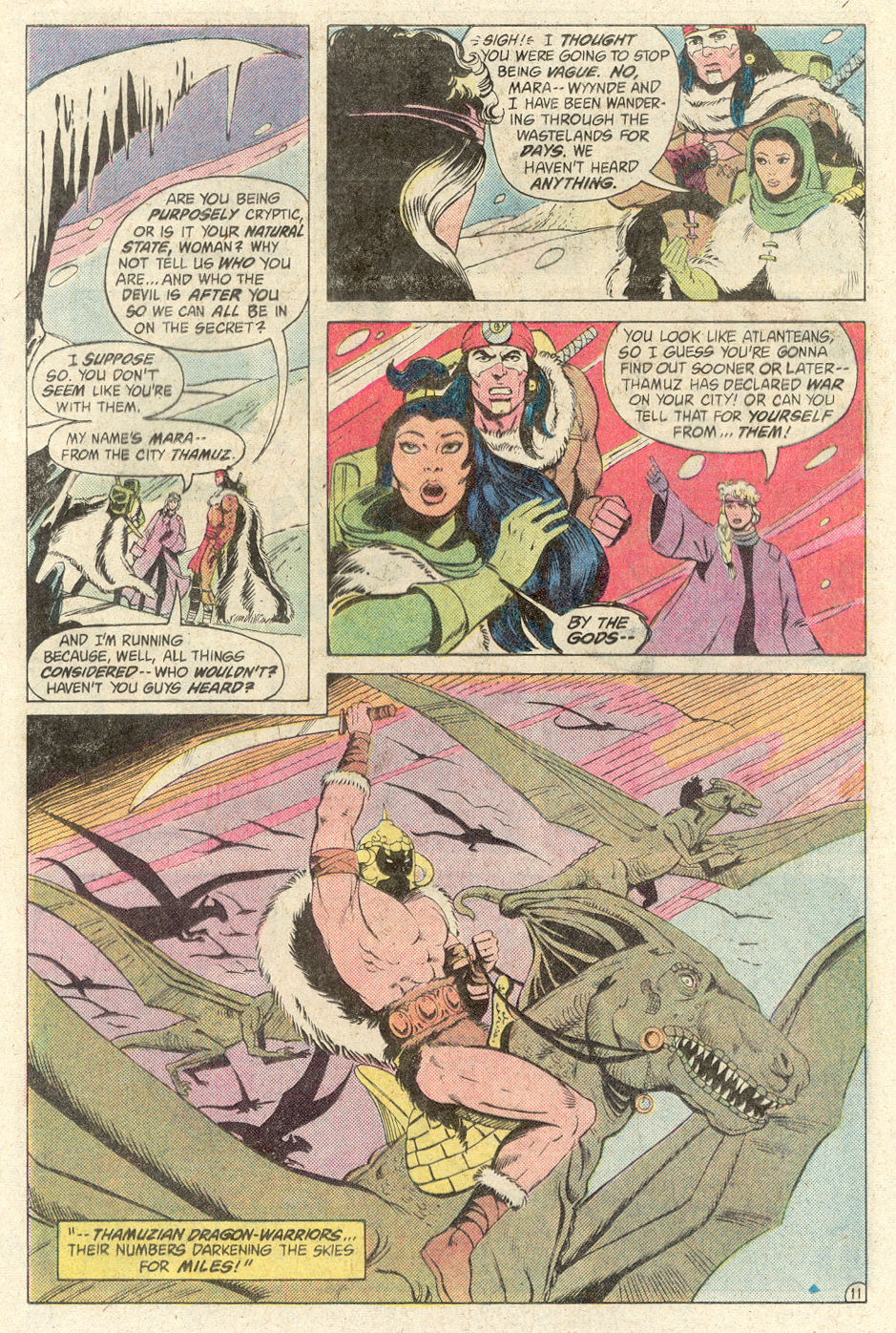 Read online Arion, Lord of Atlantis comic -  Issue #2 - 11