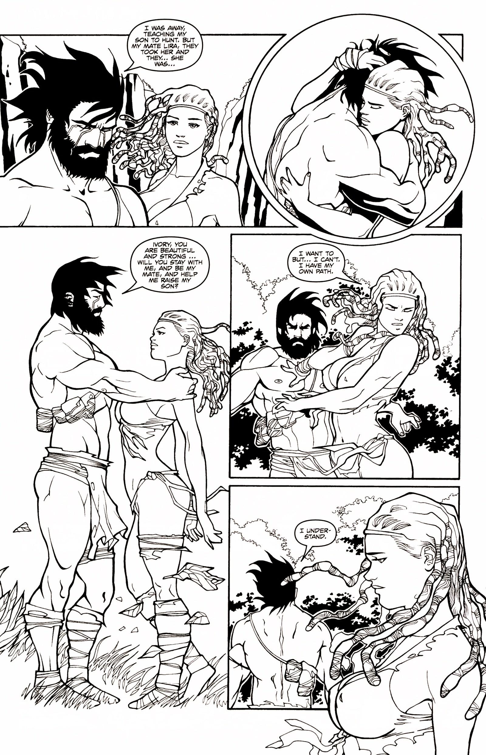 Read online Jungle Fantasy (2002) comic -  Issue # _Annual 1 - 14