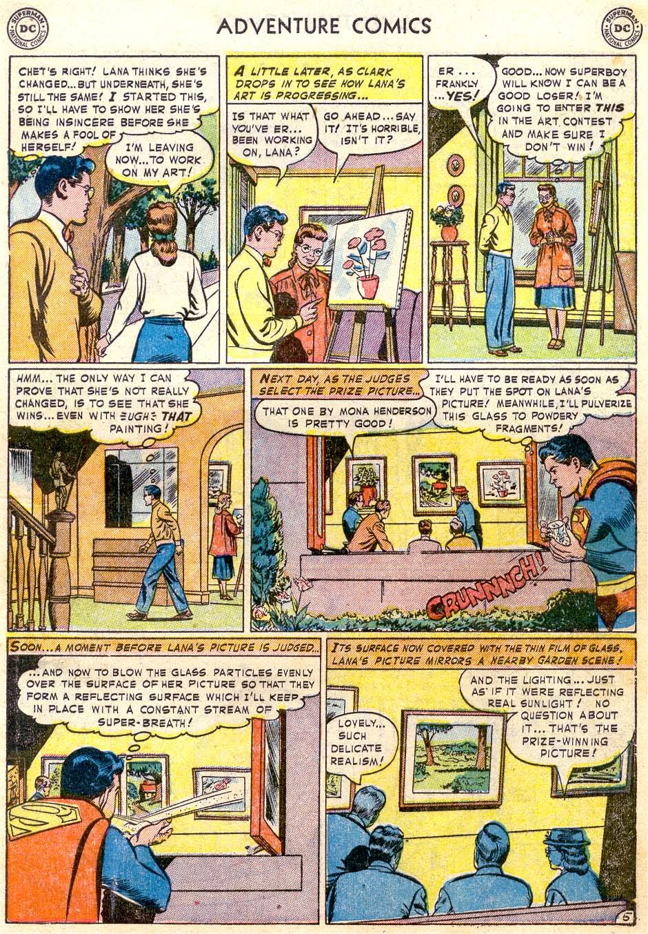 Read online Adventure Comics (1938) comic -  Issue #174 - 7