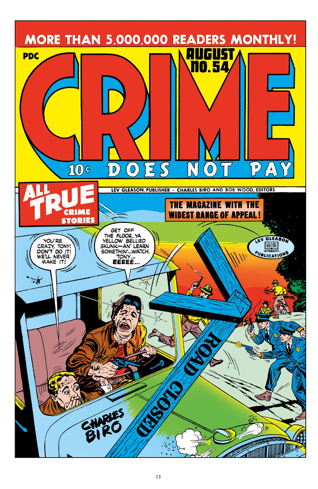 Read online Crime Does Not Pay Archives comic -  Issue # TPB 9 (Part 1) - 13