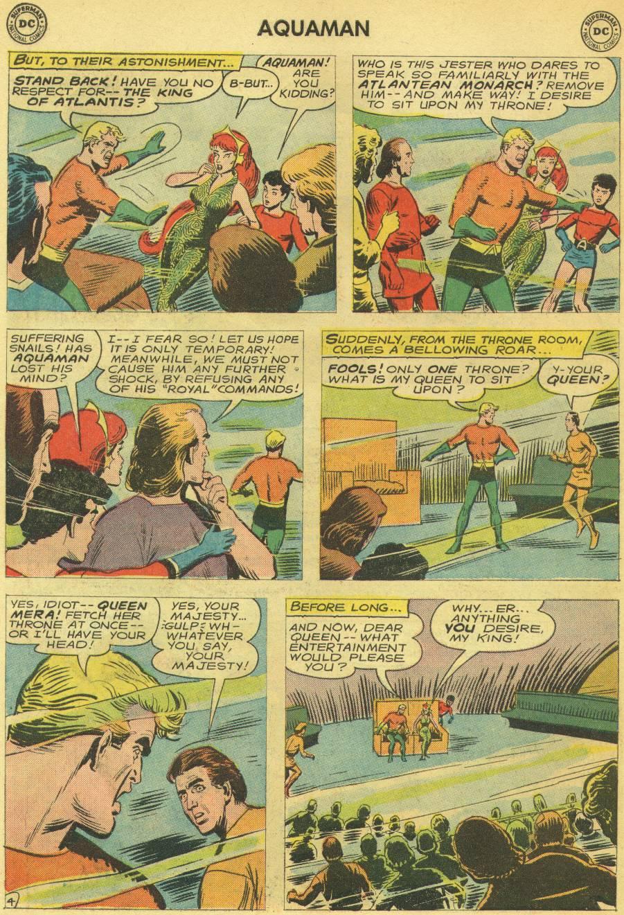 Read online Aquaman (1962) comic -  Issue #14 - 22