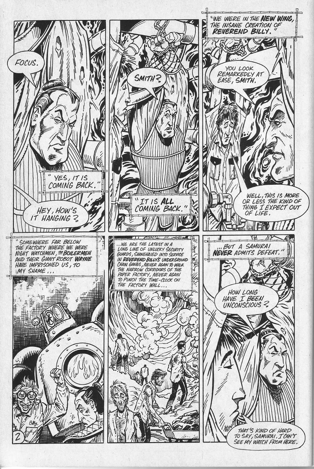 Read online Paul the Samurai (1991) comic -  Issue # TPB - 38