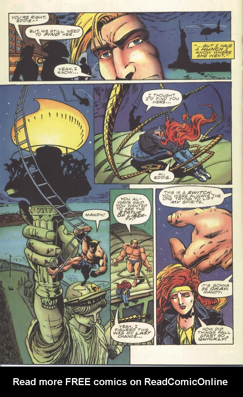 Read online Secret Weapons comic -  Issue #8 - 20