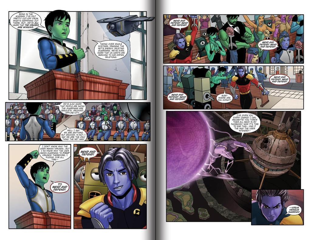 Read online ReBoot: Paradigms Lost comic -  Issue # Full - 6