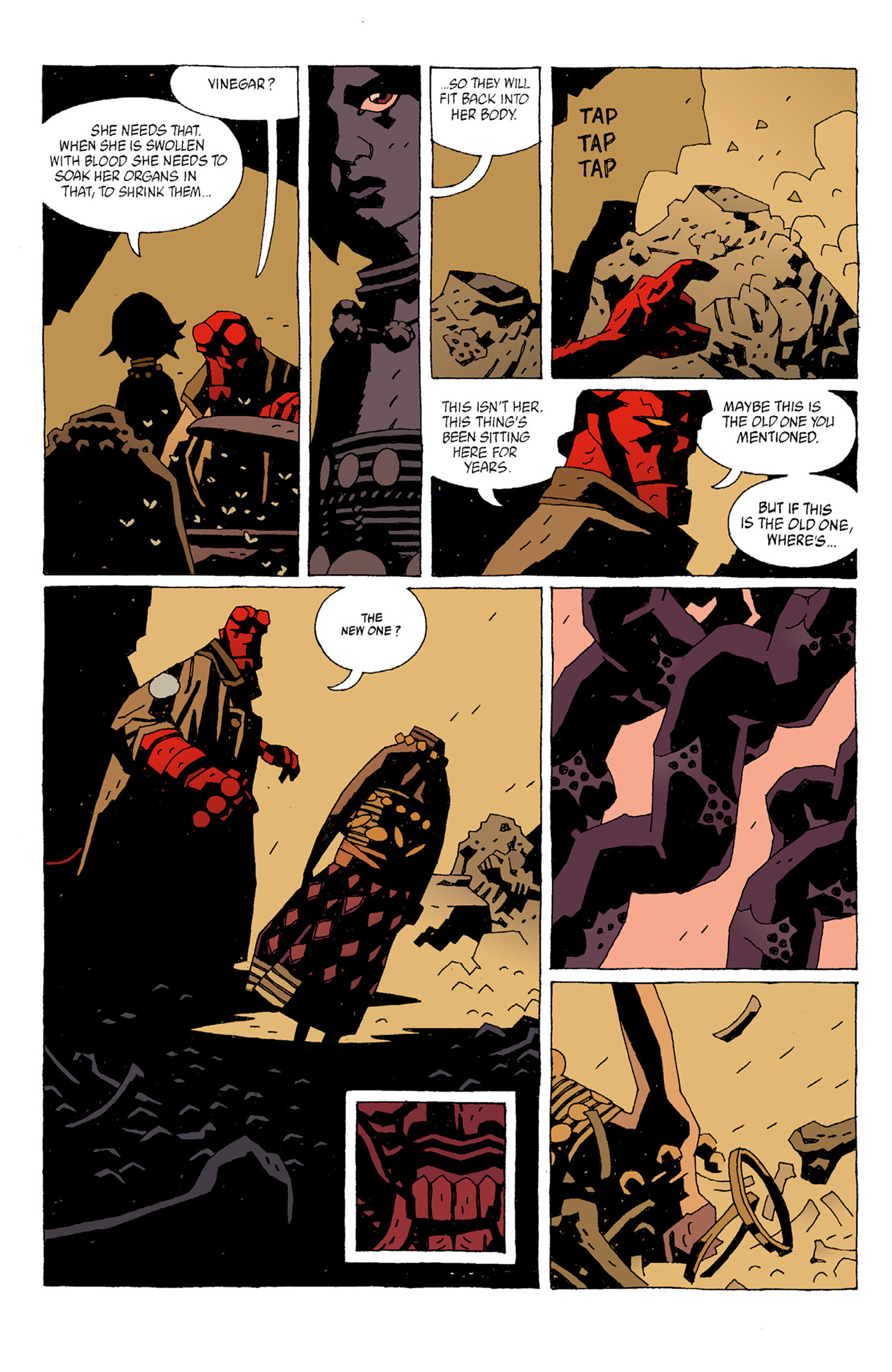 Read online Hellboy: The Troll Witch and Others comic -  Issue # TPB - 12