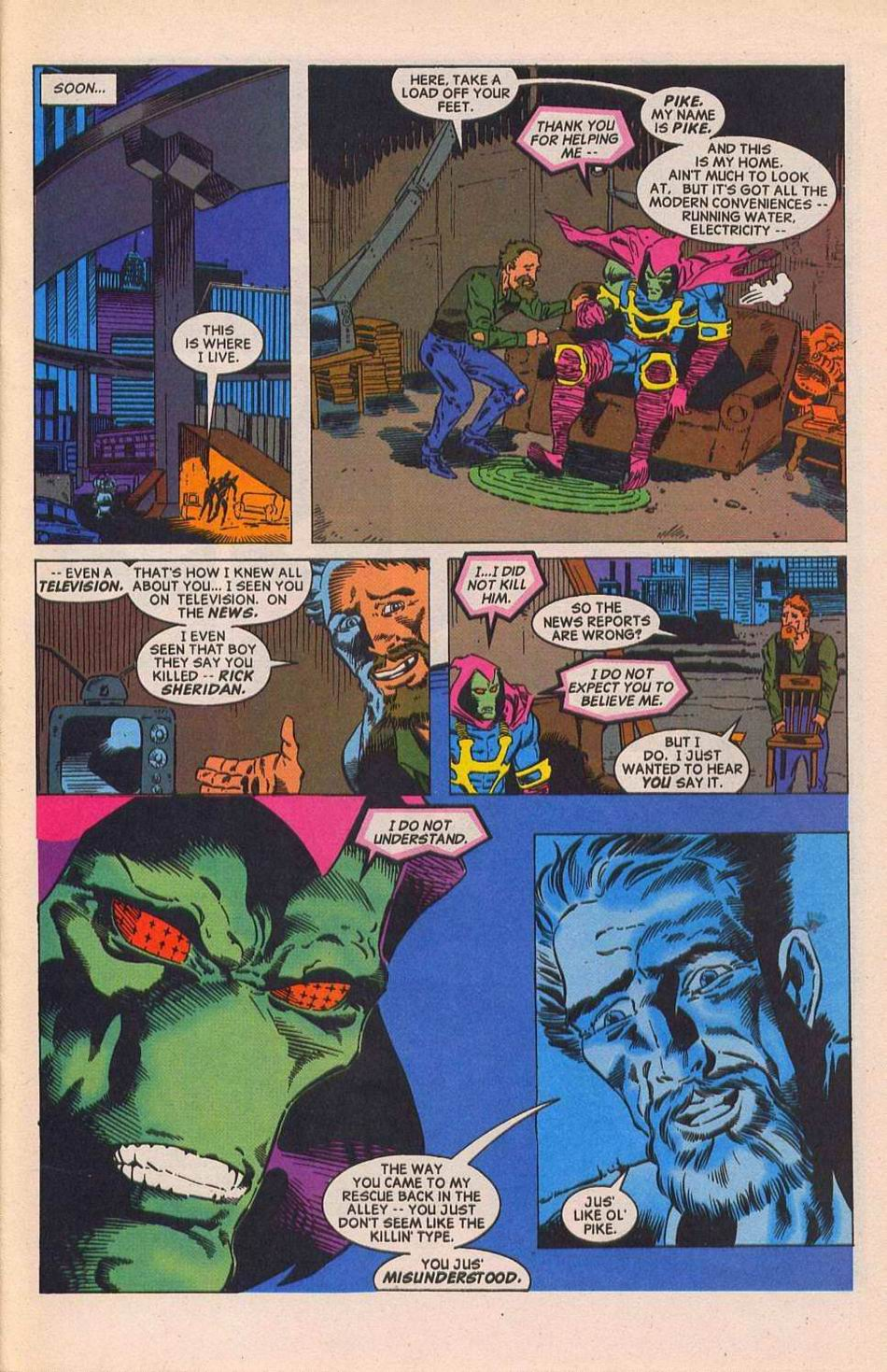 Read online Sleepwalker comic -  Issue #28 - 8