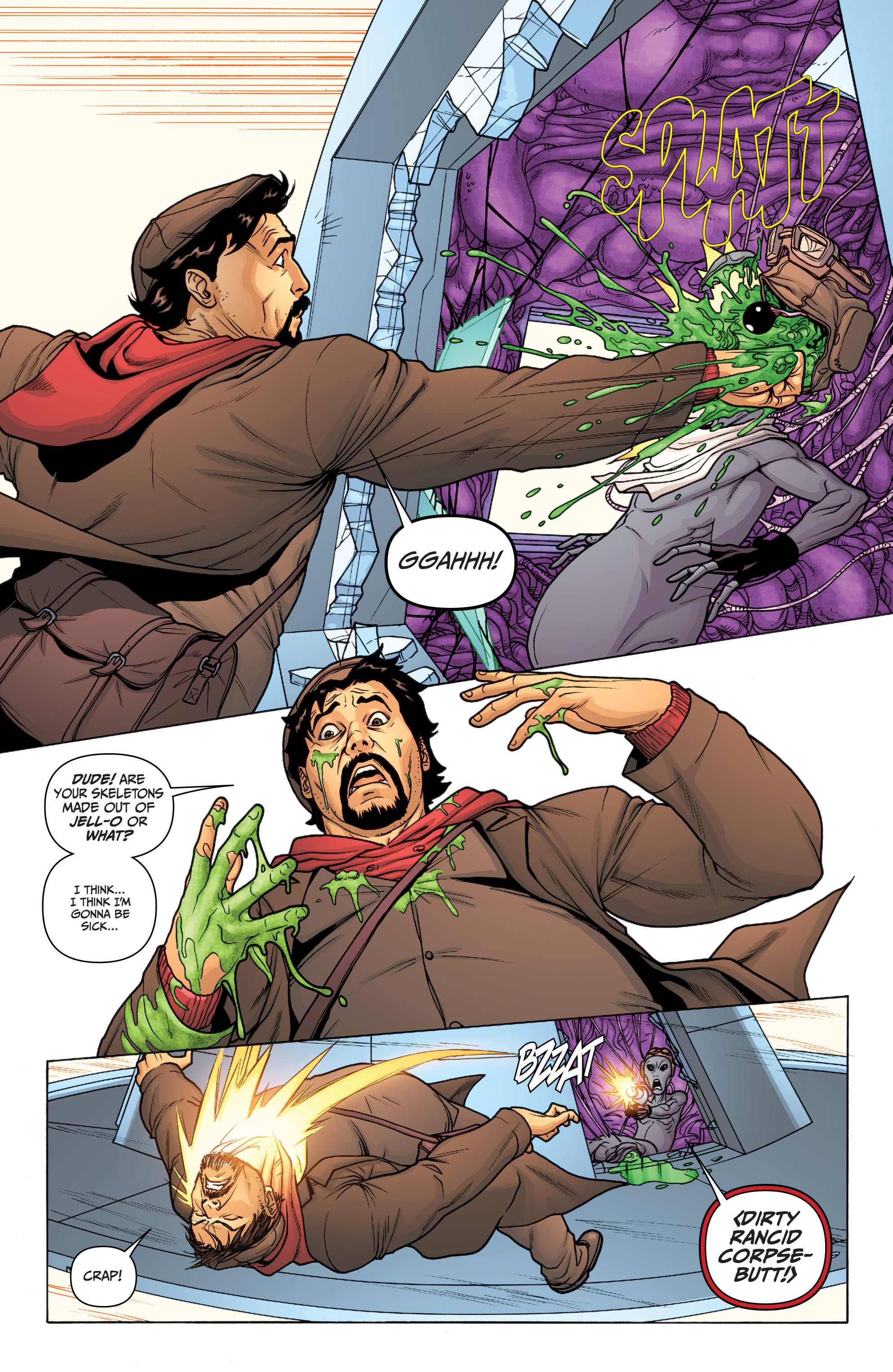 Read online Archer and Armstrong comic -  Issue #12 - 13