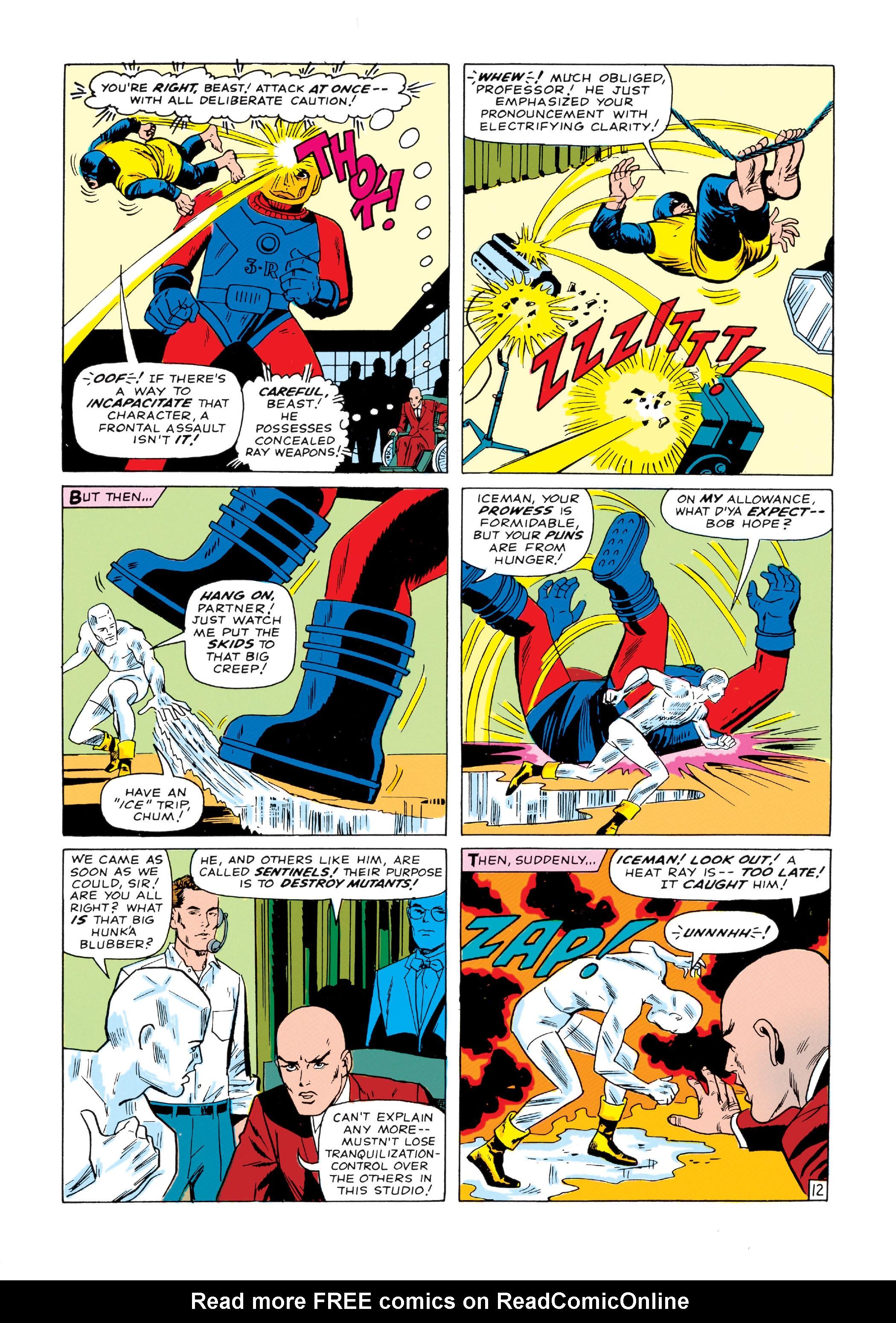 Read online Uncanny X-Men (1963) comic -  Issue #14 - 13