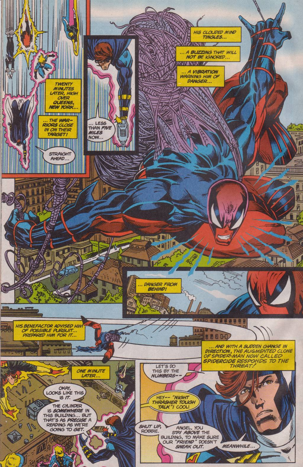 The New Warriors Issue #61 #65 - English 17