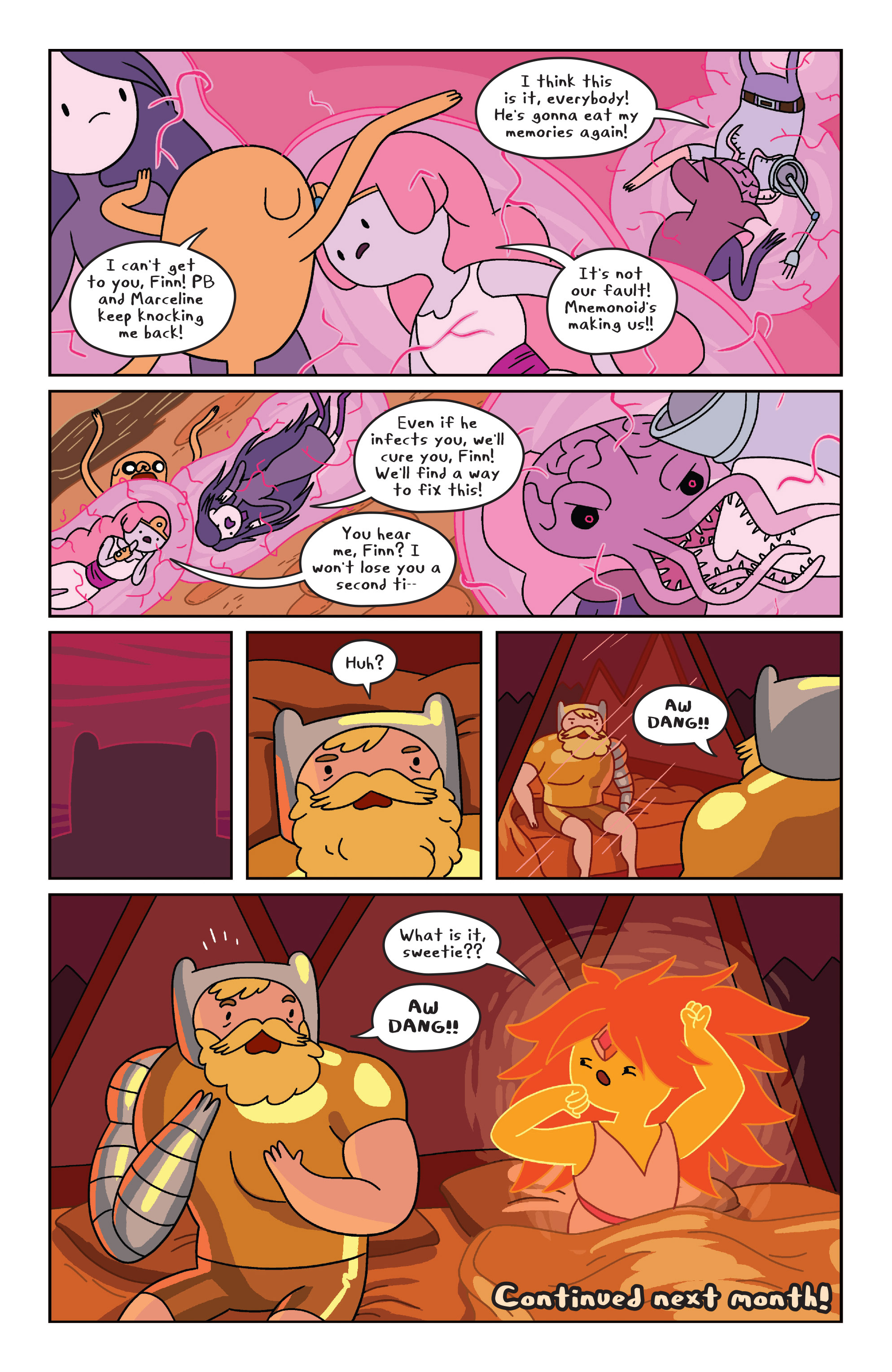 Read online Adventure Time comic -  Issue #32 - 18