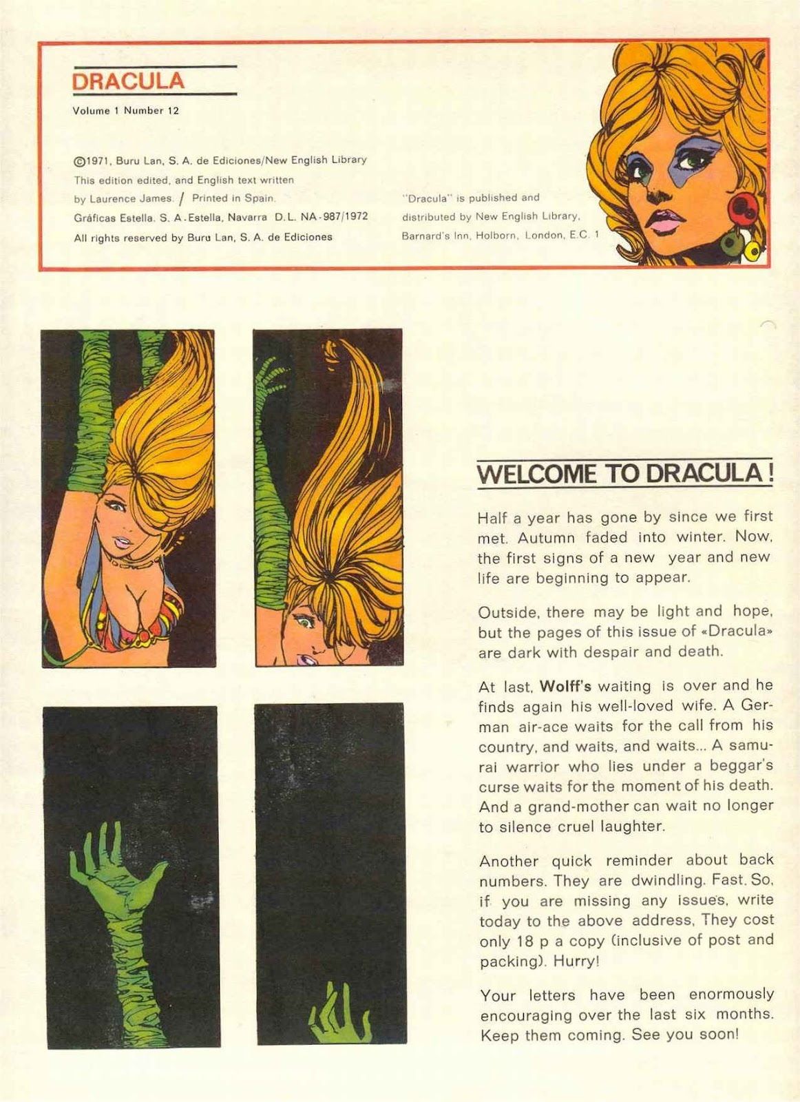 Dracula (1971) 12 Page 2