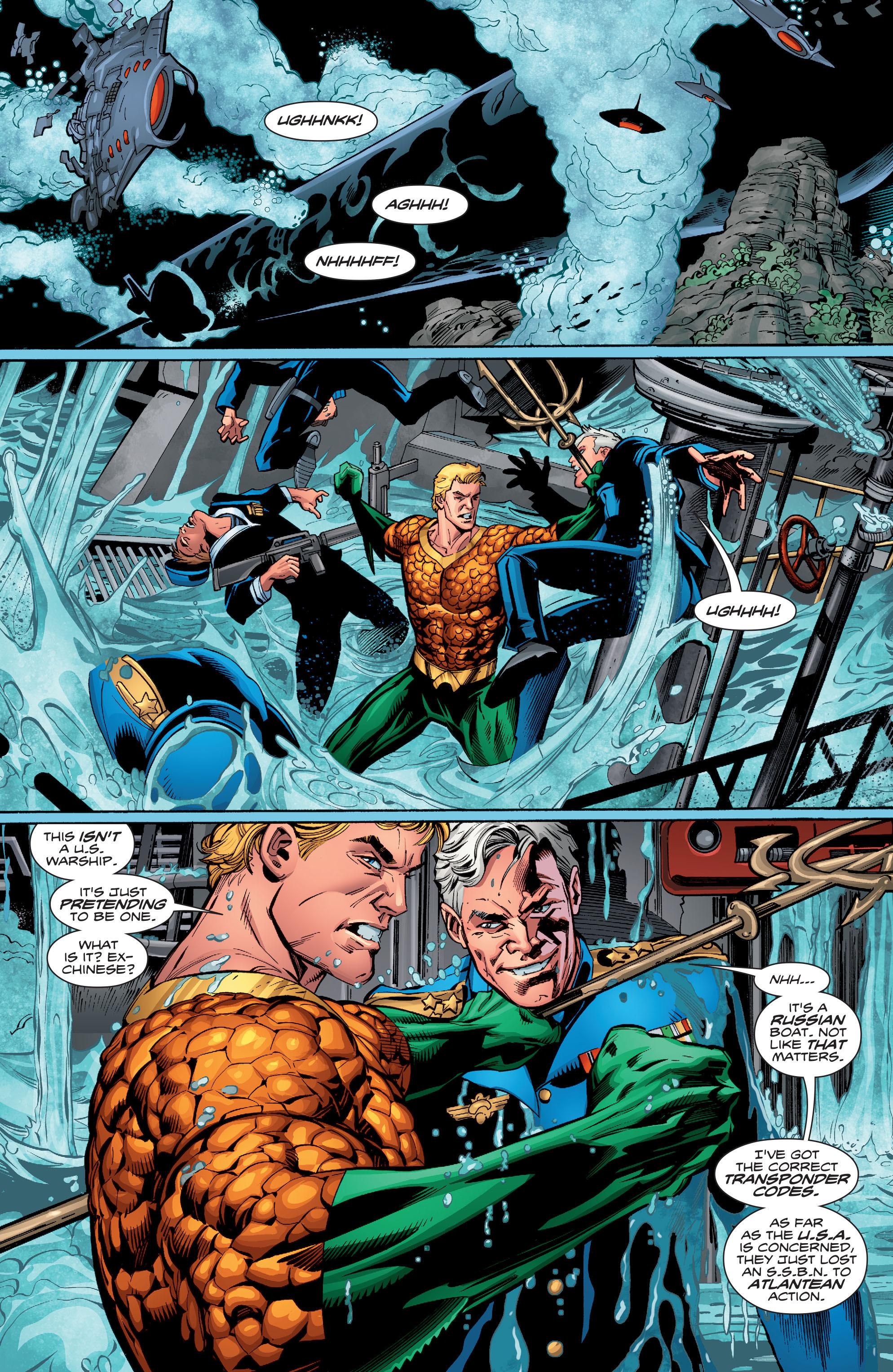 Read online Aquaman (2016) comic -  Issue #13 - 17