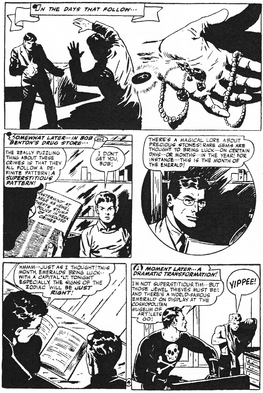 Read online Men of Mystery Comics comic -  Issue #76 - 60