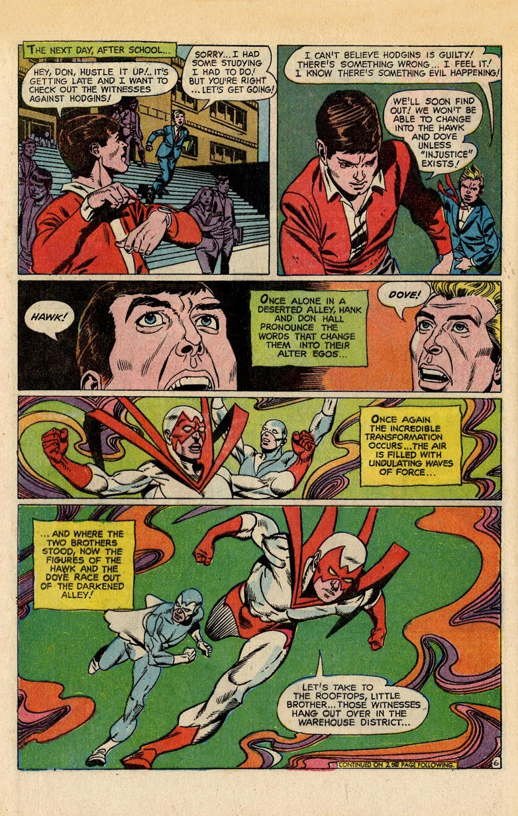 The Hawk and the Dove issue 5 - Page 8