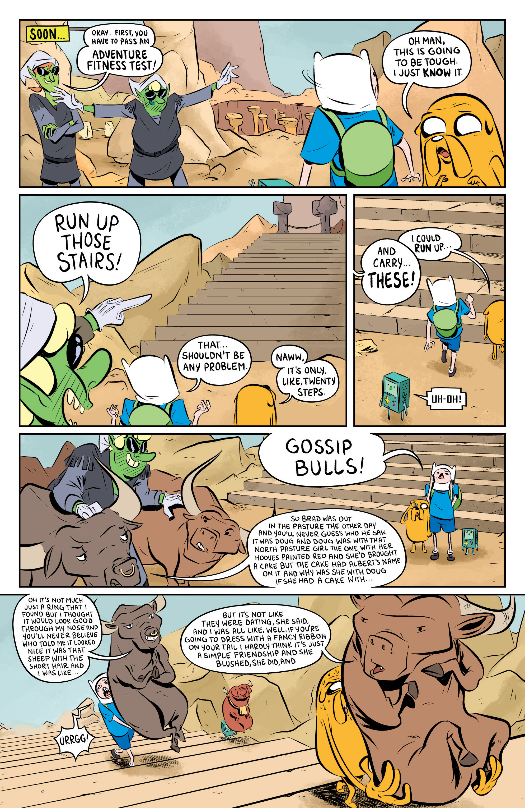 Read online Adventure Time: The Flip Side comic -  Issue #1 - 16