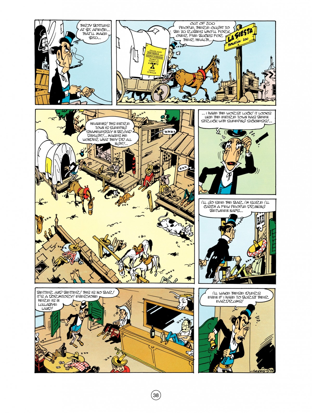 Read online A Lucky Luke Adventure comic -  Issue #38 - 38