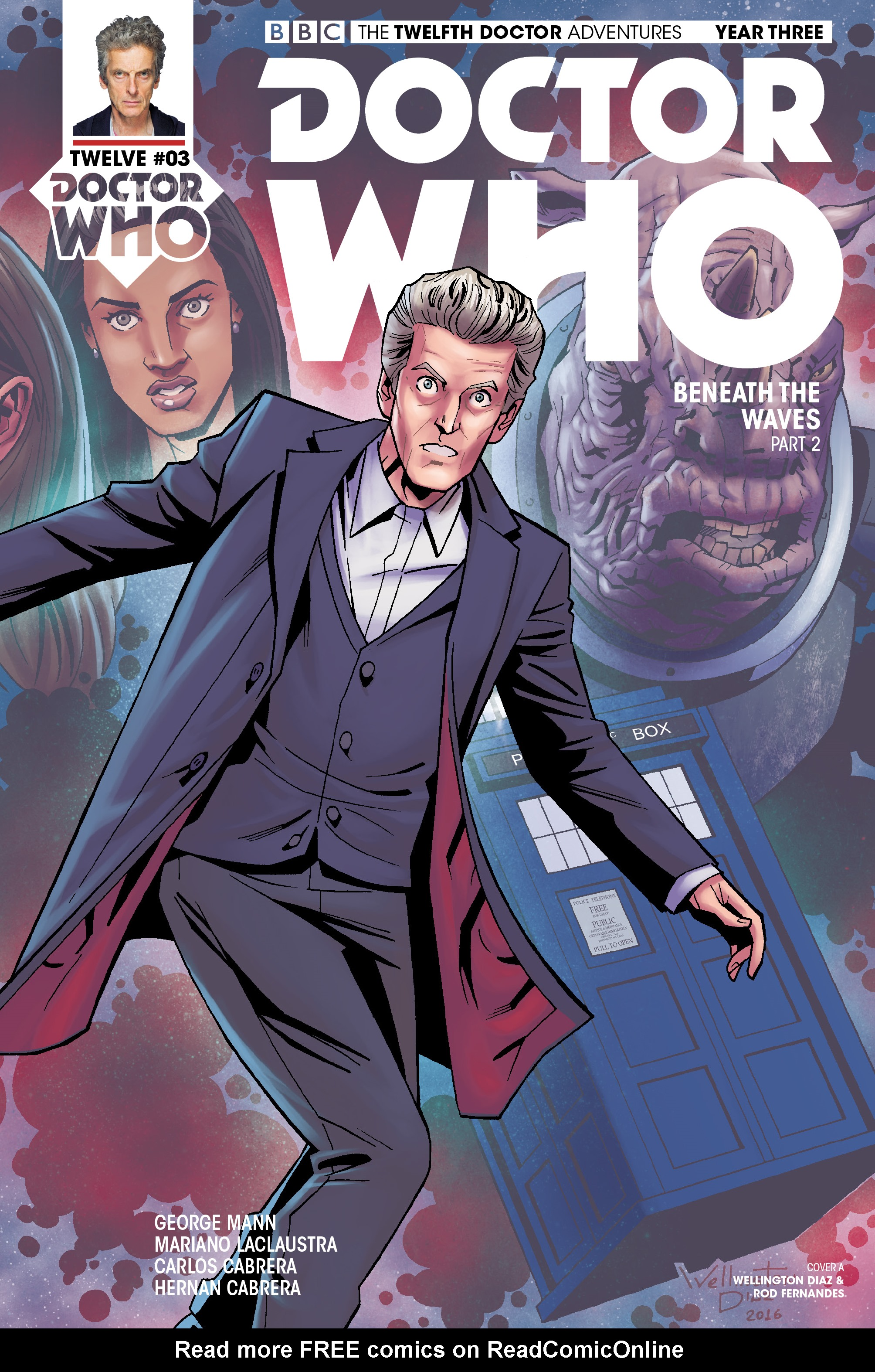 Read online Doctor Who: The Twelfth Doctor Year Three comic -  Issue #3 - 1