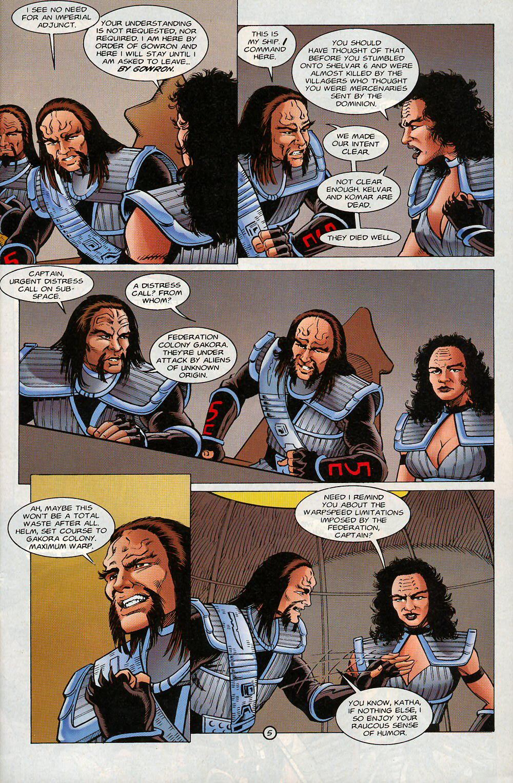 Read online Star Trek: Deep Space Nine - Lightstorm comic -  Issue # Full - 5