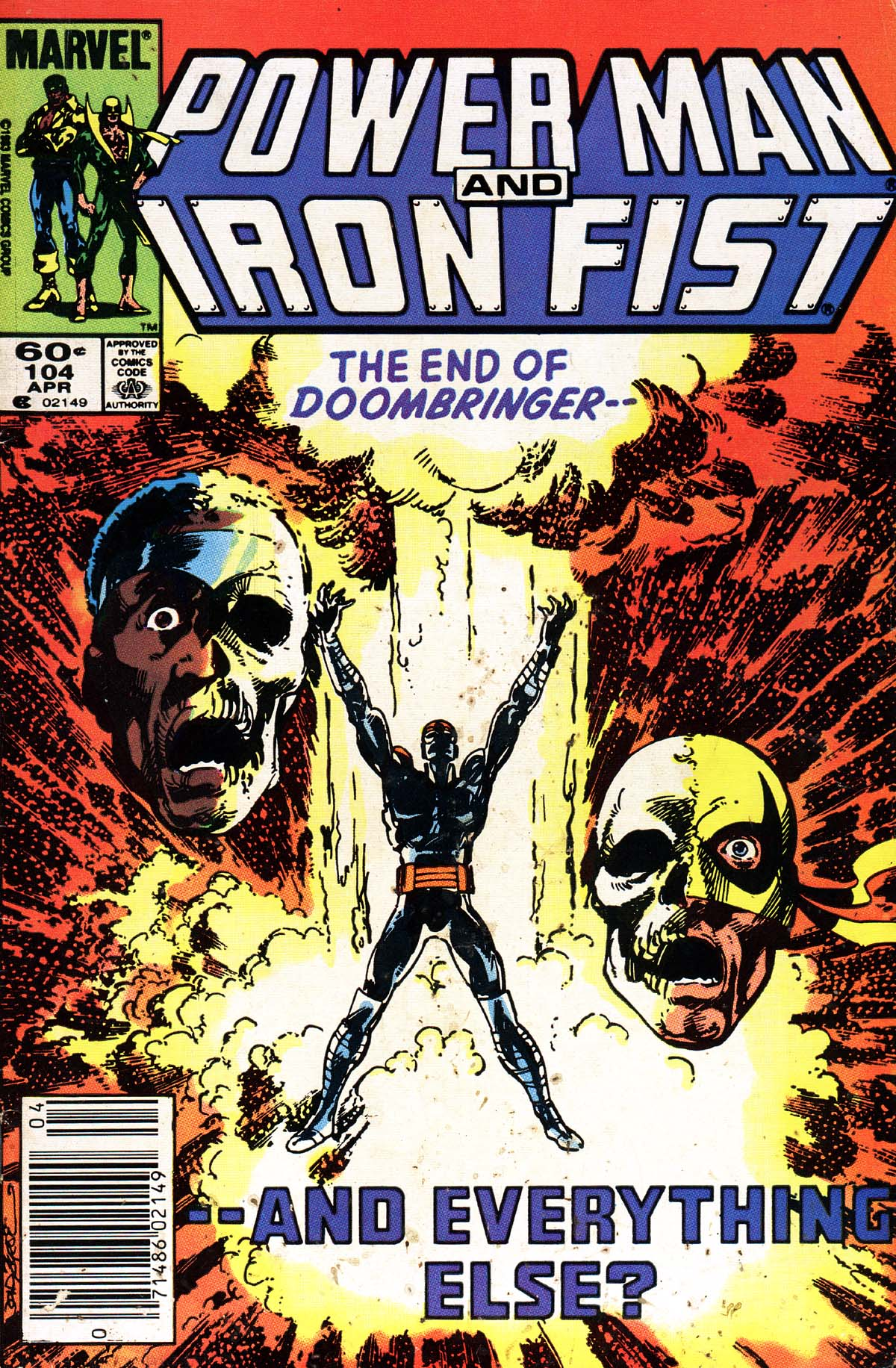 Power Man and Iron Fist (1978) issue 104 - Page 1
