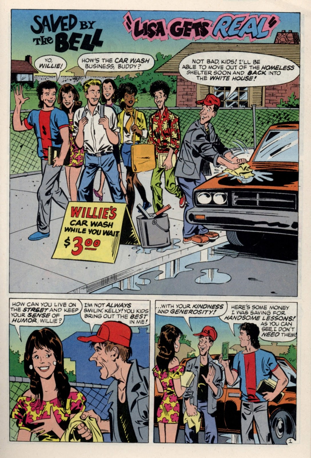 Read online Saved By The Bell comic -  Issue #4 - 20