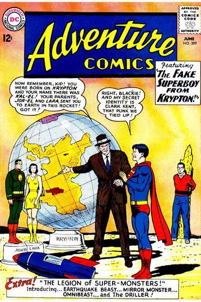 Read online Adventure Comics (1938) comic -  Issue #309 - 1
