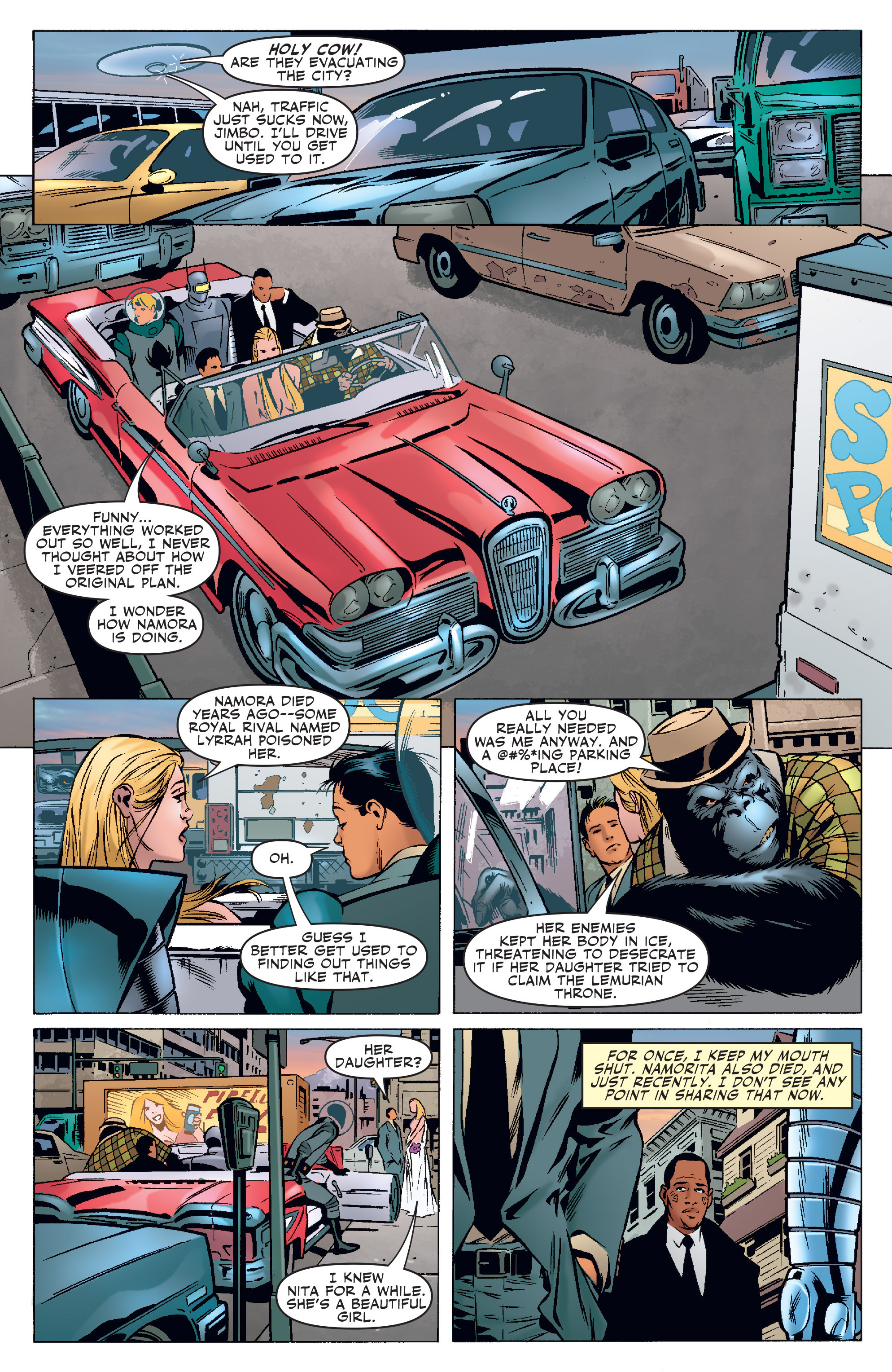 Read online Agents Of Atlas (2006) comic -  Issue #3 - 10
