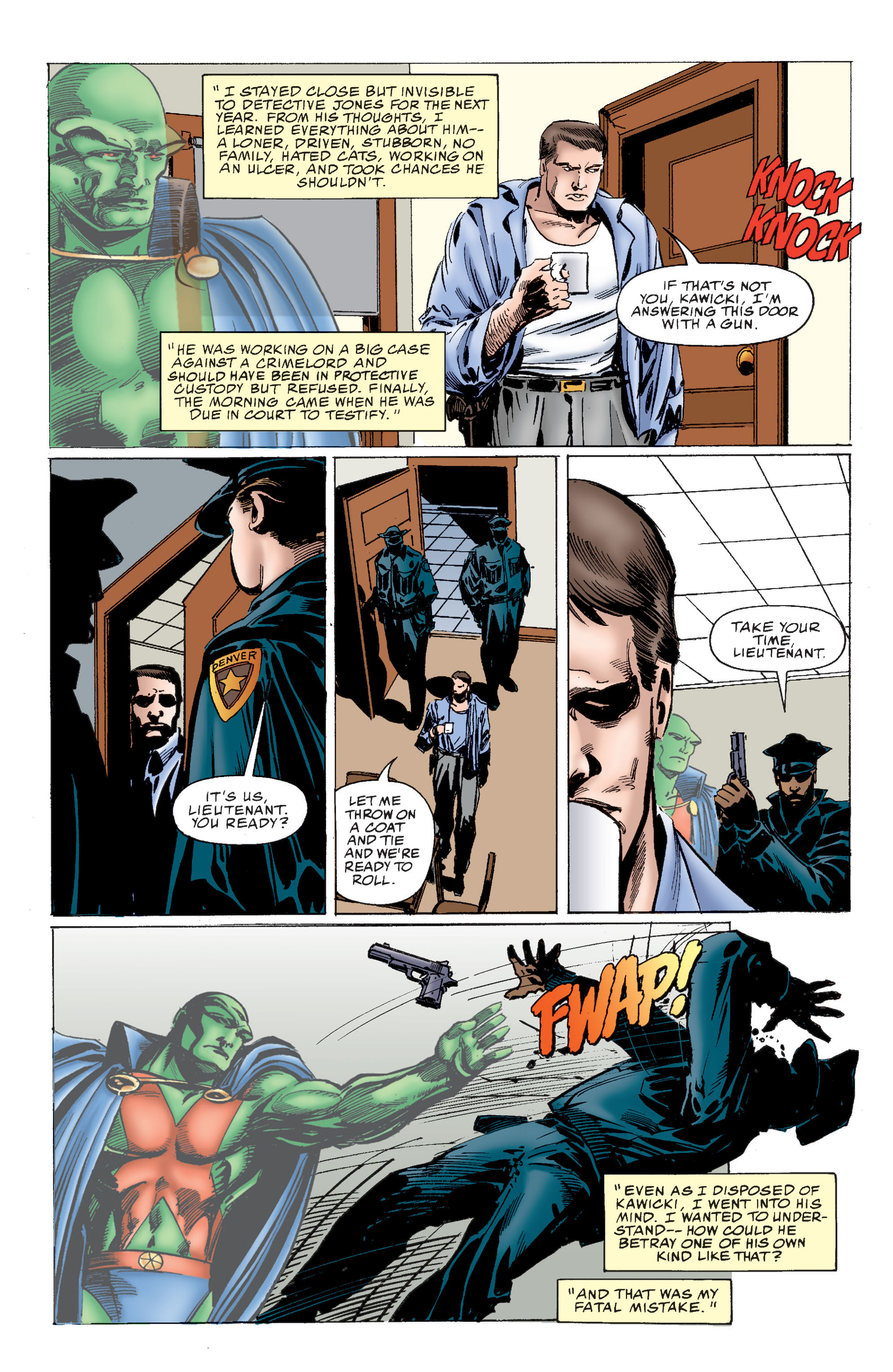 Read online Martian Manhunter: Son of Mars comic -  Issue # TPB - 26
