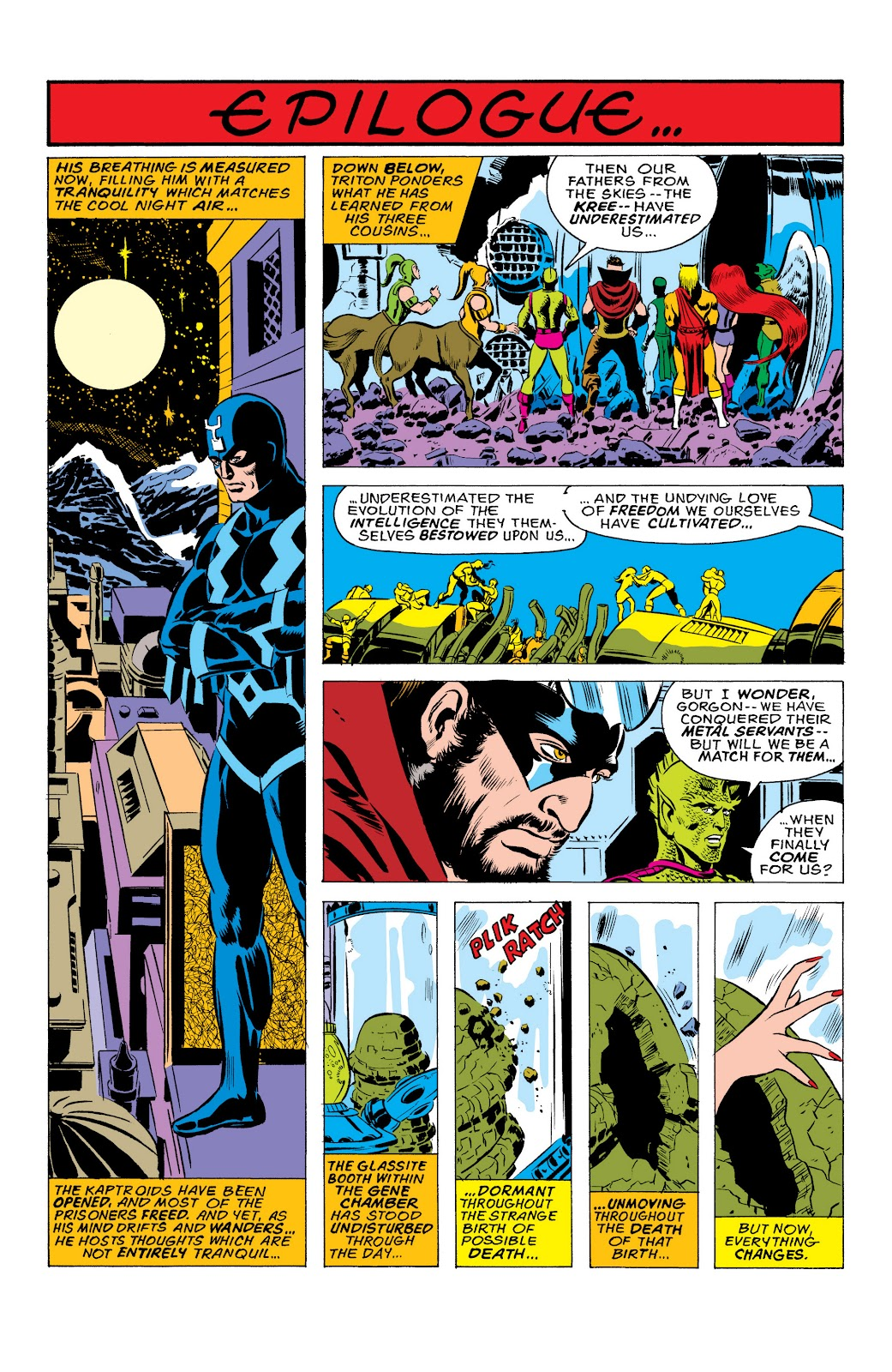 Read online Marvel Masterworks: The Inhumans comic -  Issue # TPB 2 (Part 1) - 44